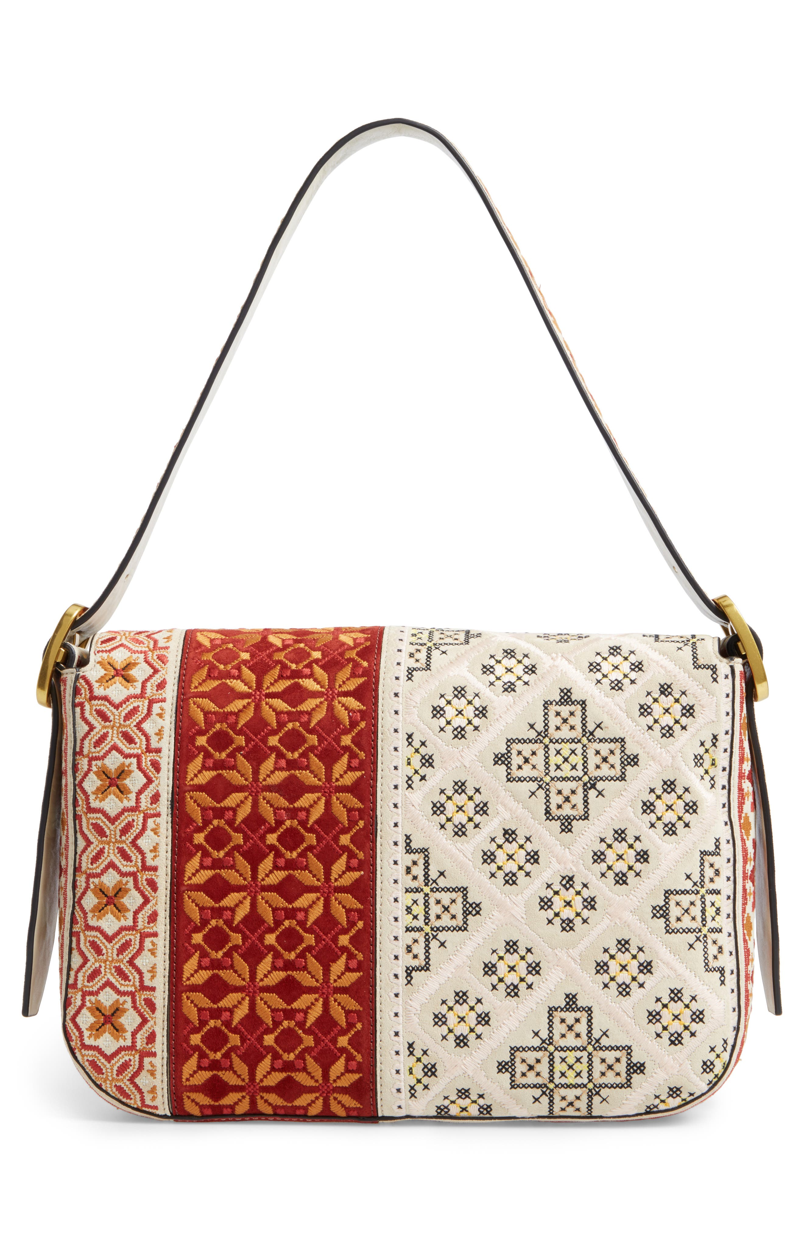 Alternate Image 3  - Tory Burch Sawyer Embroidered Shoulder Bag