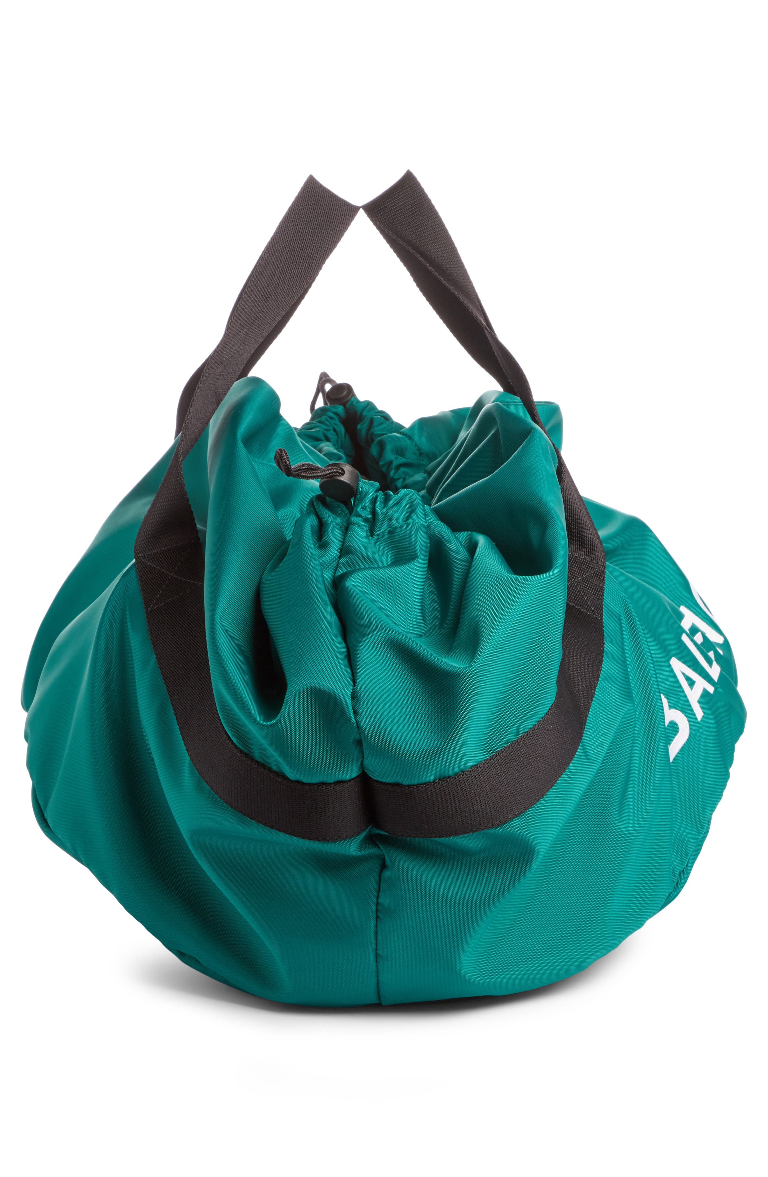 Small Wheel Bag,                             Alternate thumbnail 3, color,                             Vert Emeraude/ Noir