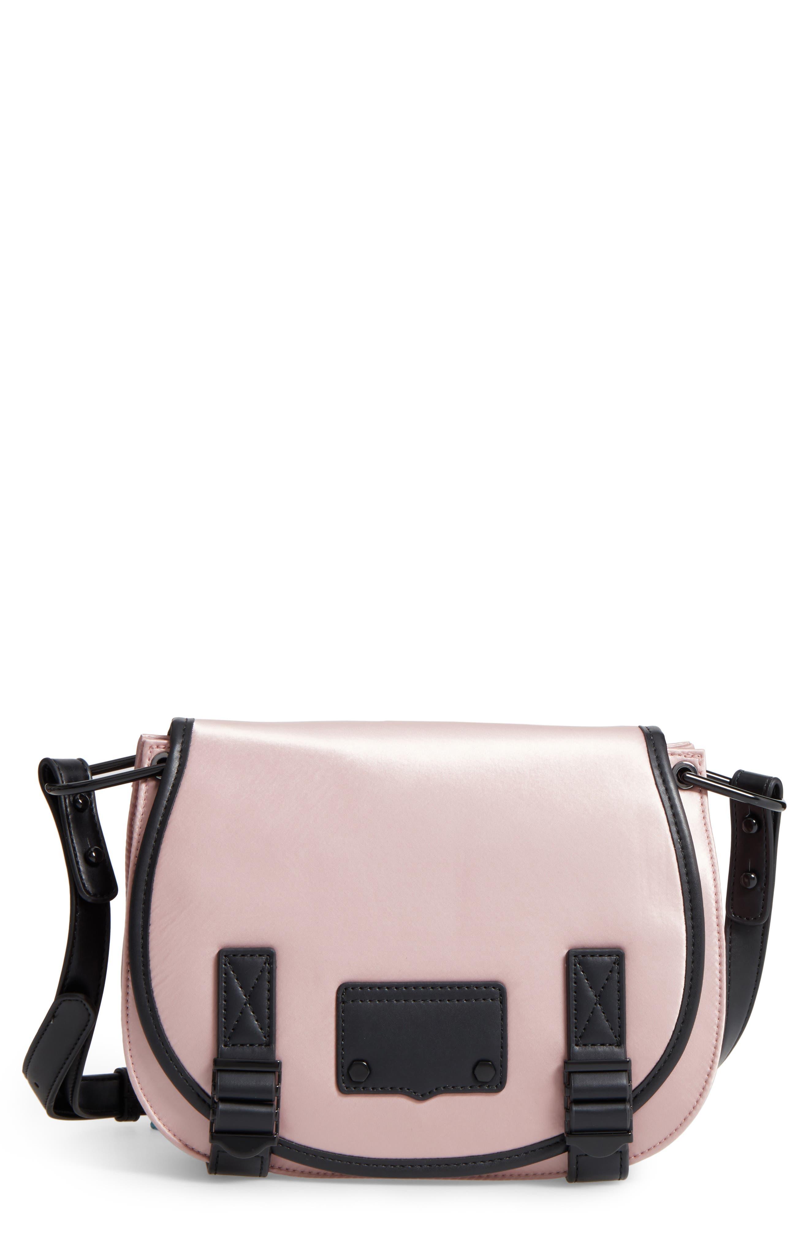 Rebecca Minkoff Military Satin Nylon Saddle Bag