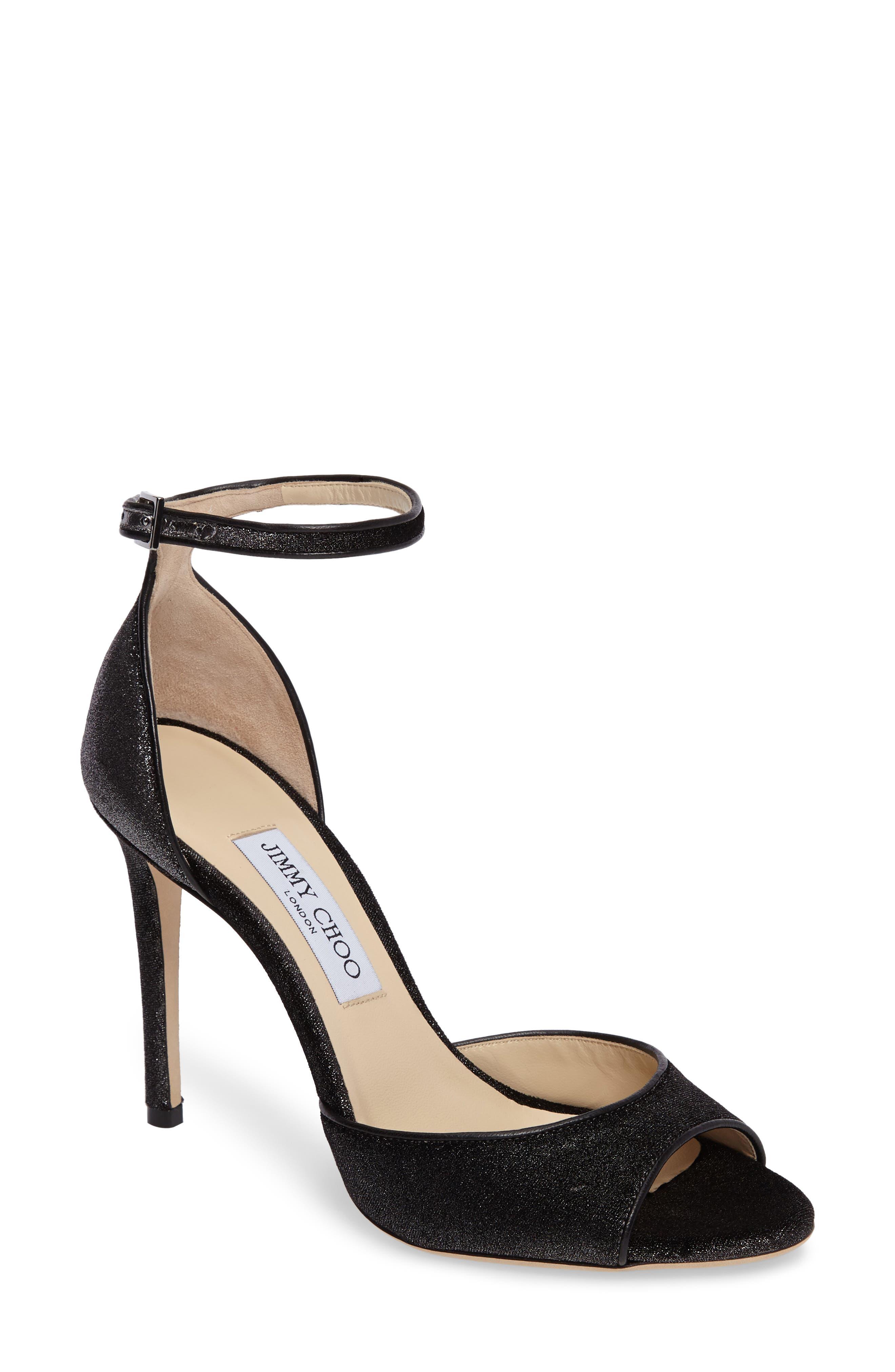 Main Image - Jimmy Choo Annie Ankle Strap Sandal (Women)