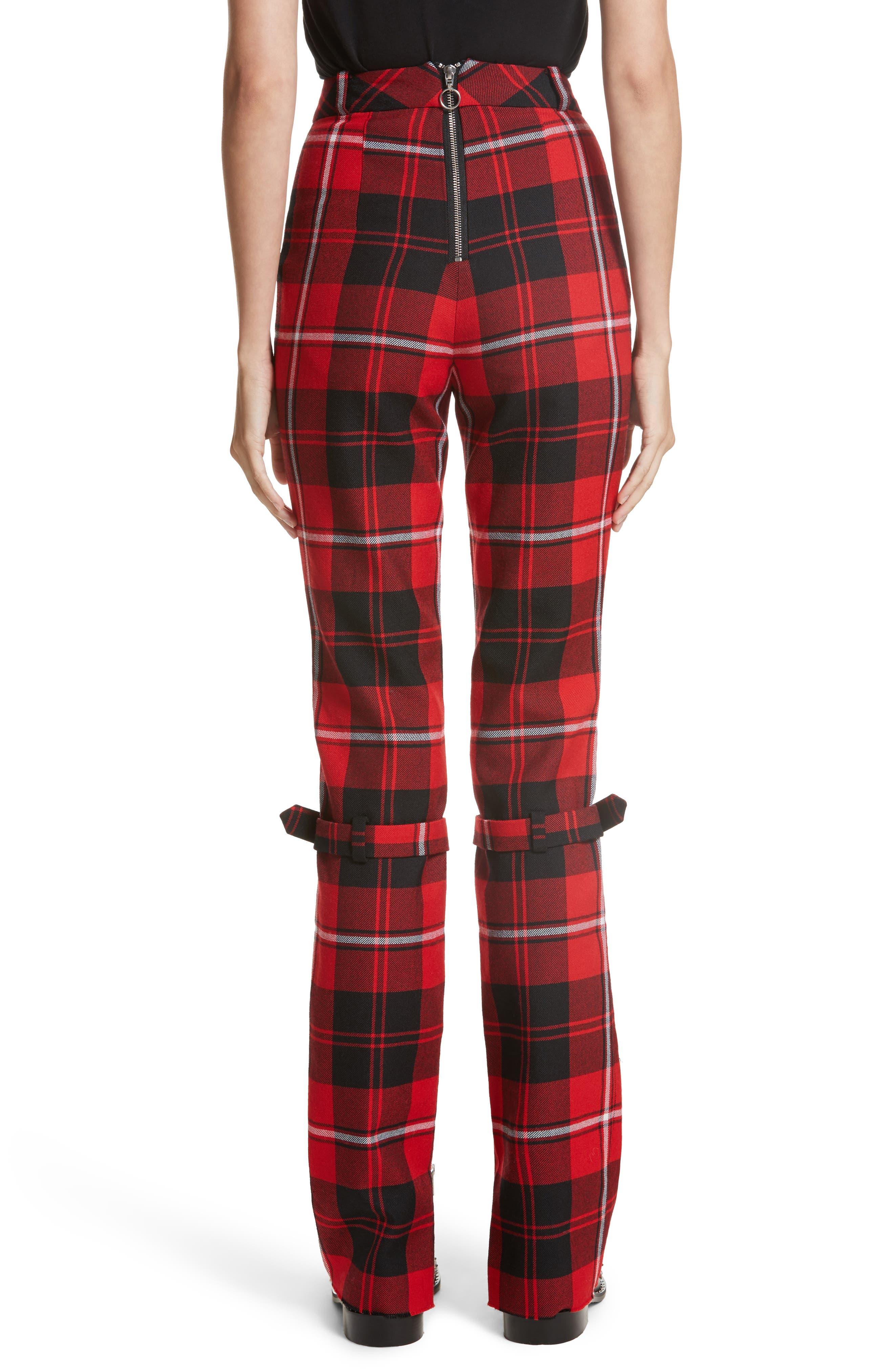 Alternate Image 2  - Dilara Findikoglu Manson Tartan Plaid Wool Pants