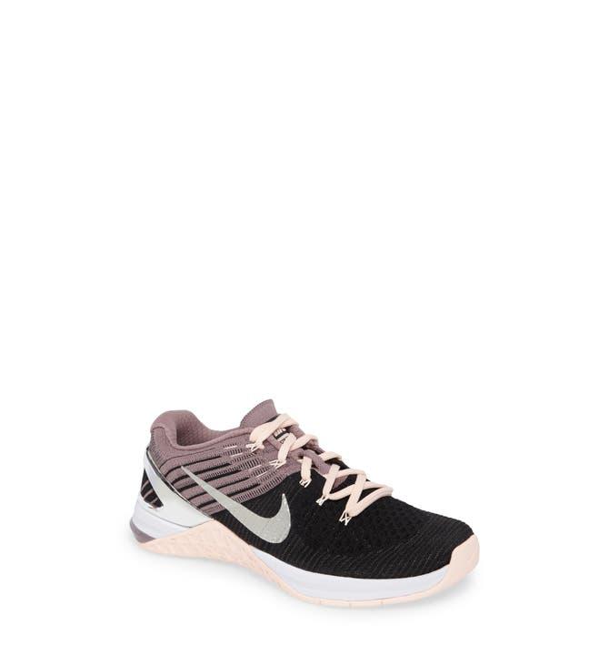 9d7e82bf756f ... Main Image - Nike Metcon DSX Flyknit Chrome Blush Training Shoe (Women)  .