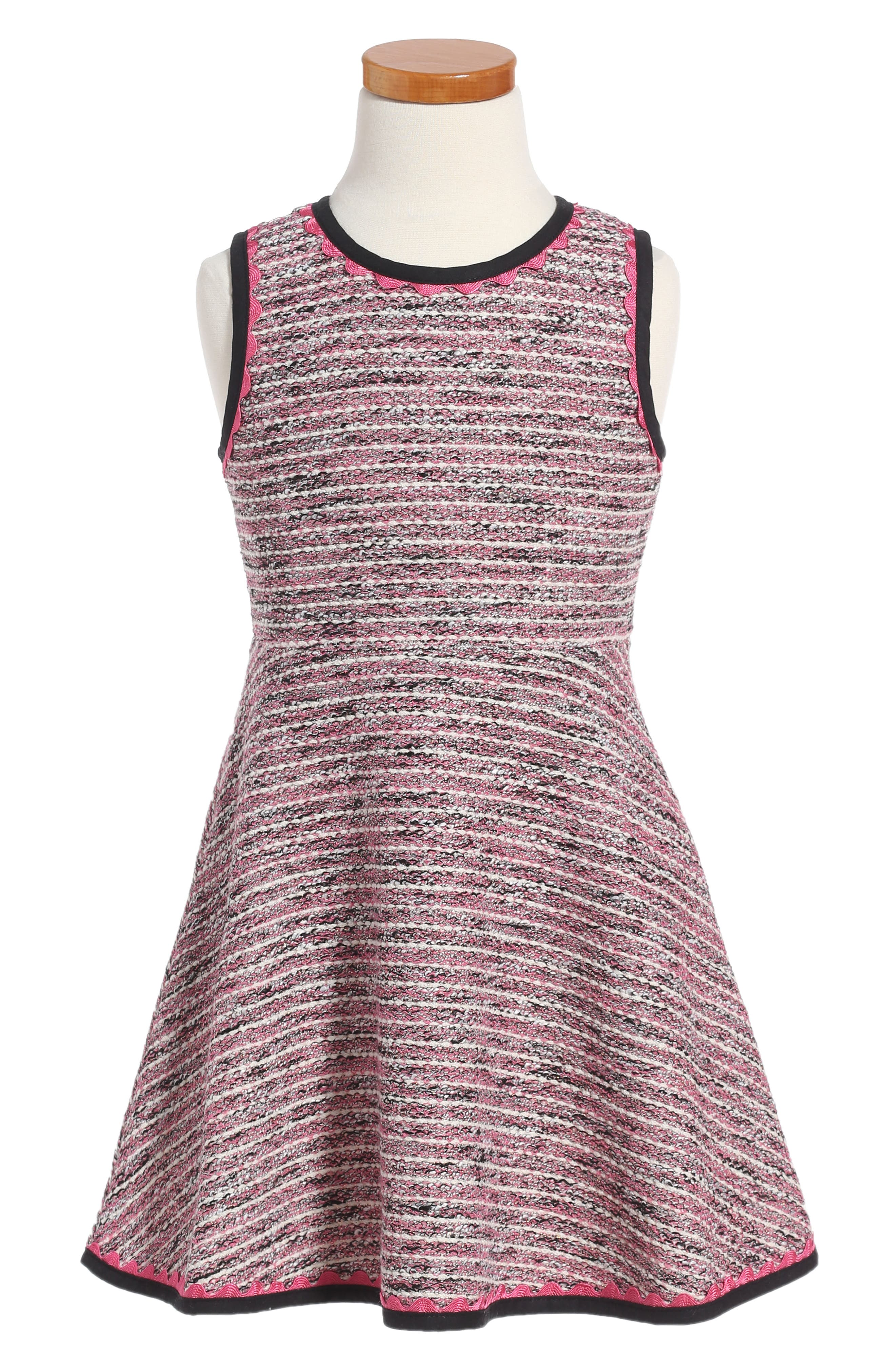 kate spade new york tweed dress (Toddler Girls & Little Girls)