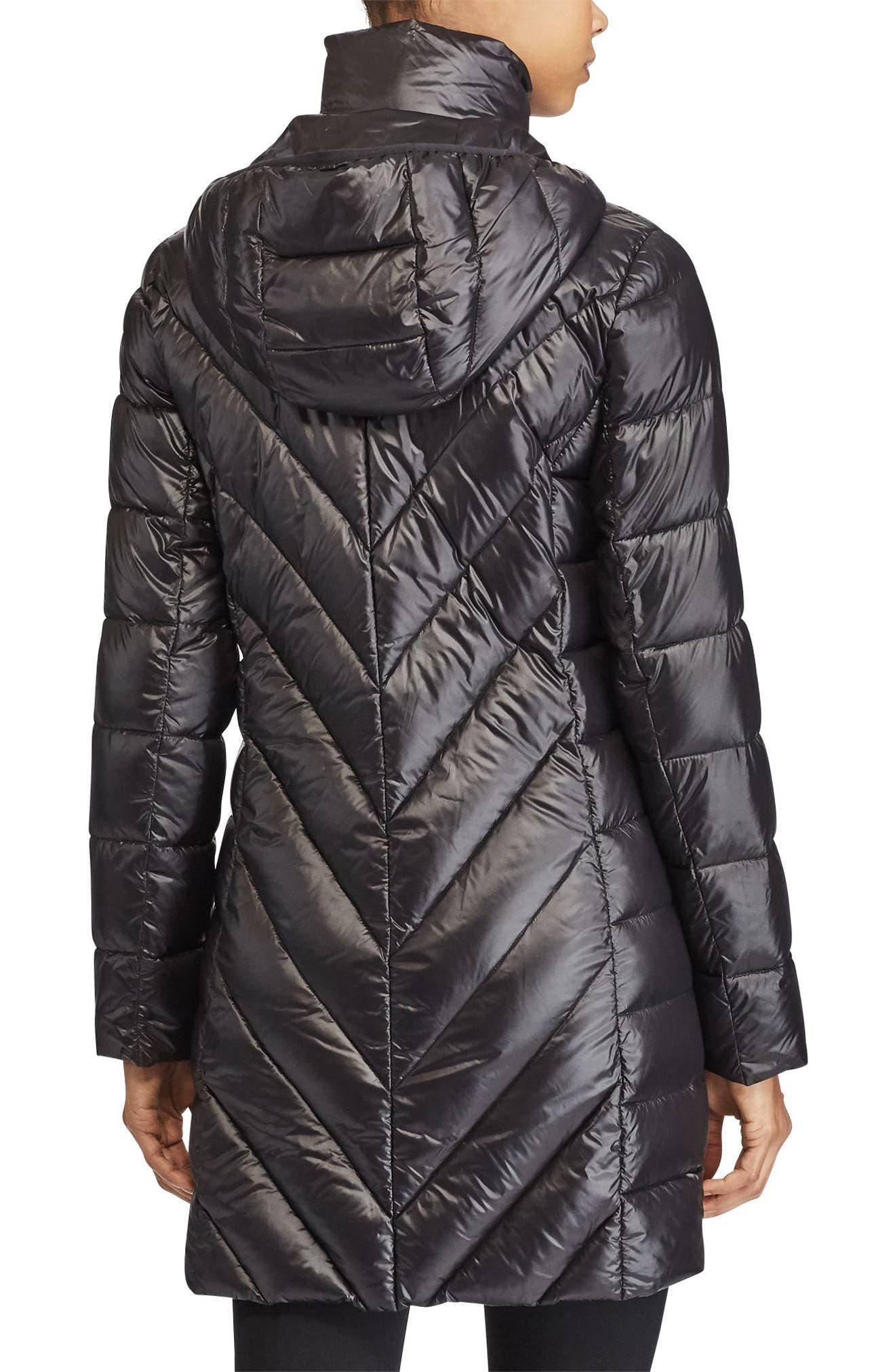 Alternate Image 3  - Lauren Ralph Lauren Chevron Quilted Down Jacket