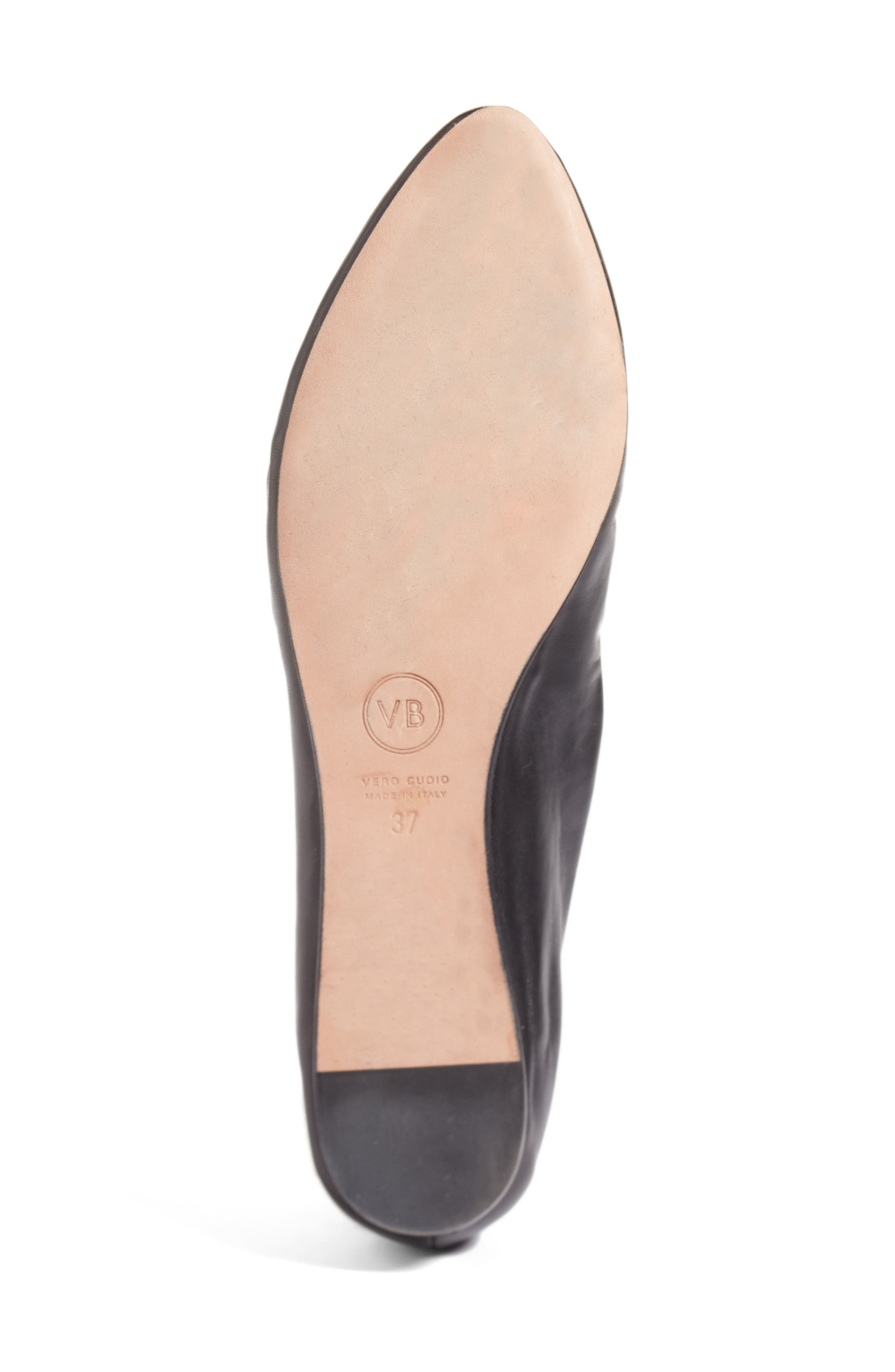 Alternate Image 6  - Veronica Beard Griffin Pointy Toe Loafer (Women)