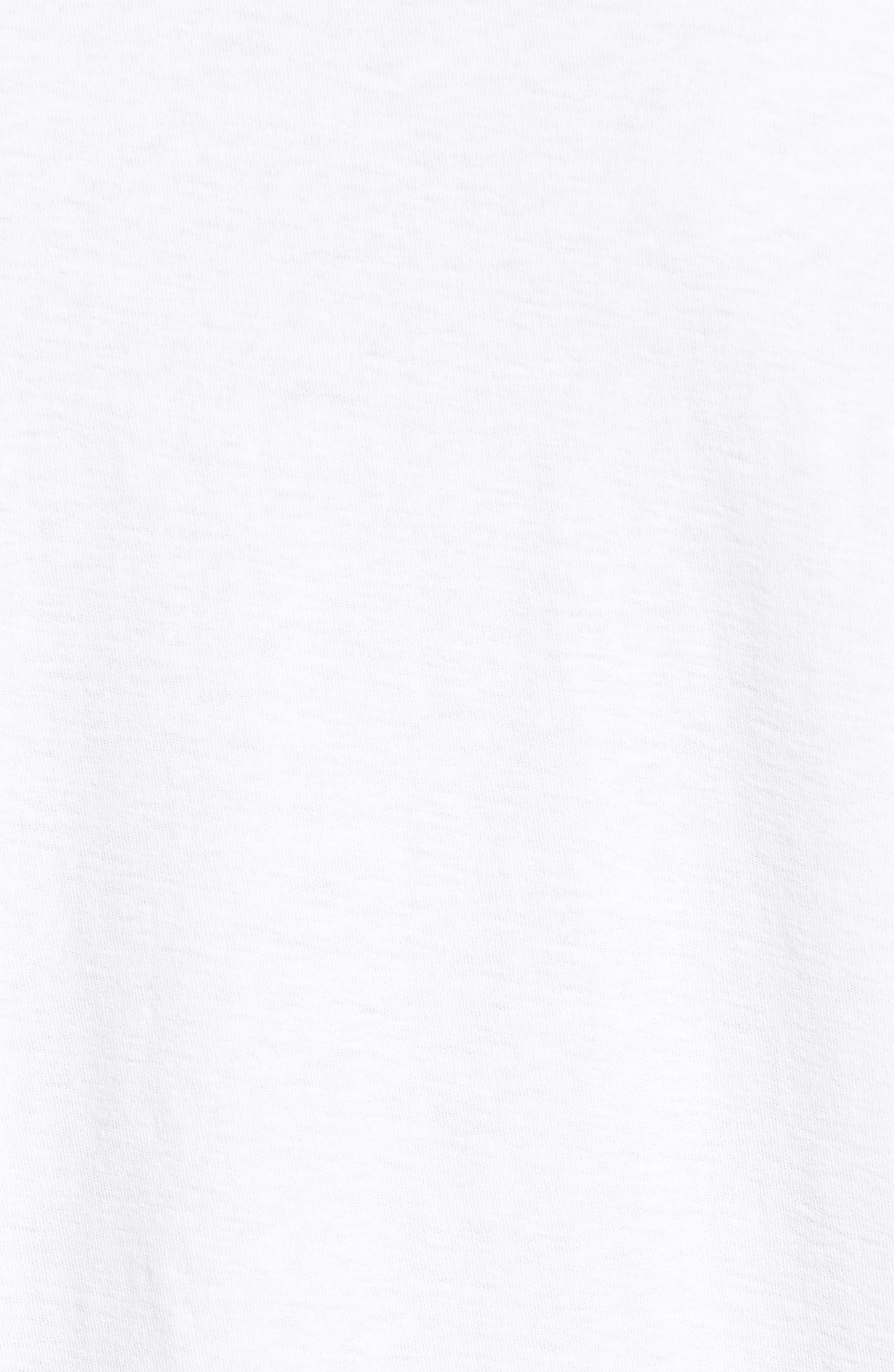 Alternate Image 6  - James Perse Long Sleeve Cotton Polo
