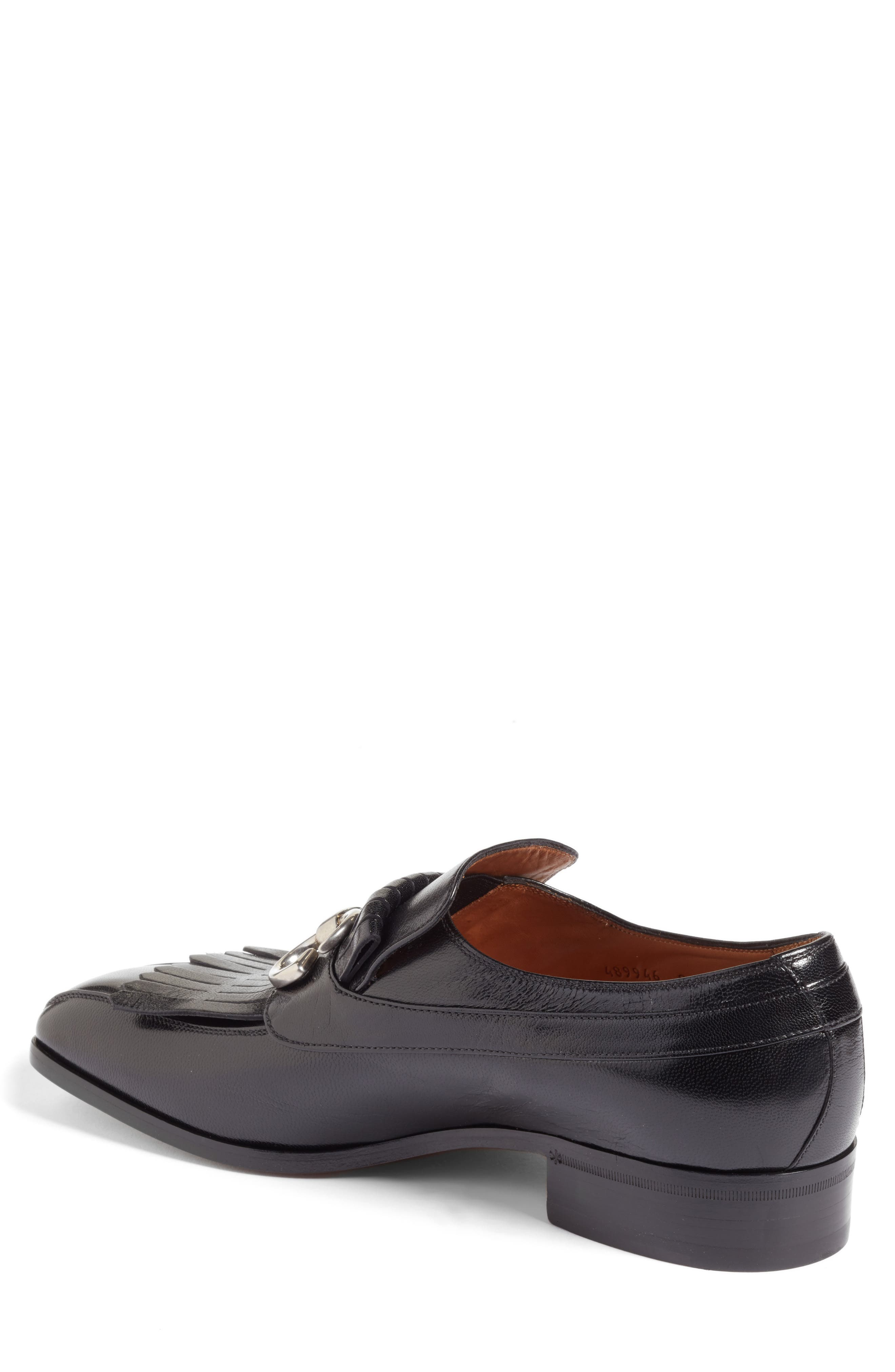 Alternate Image 2  - Gucci Novel Marmont Kiltie Loafer (Men)
