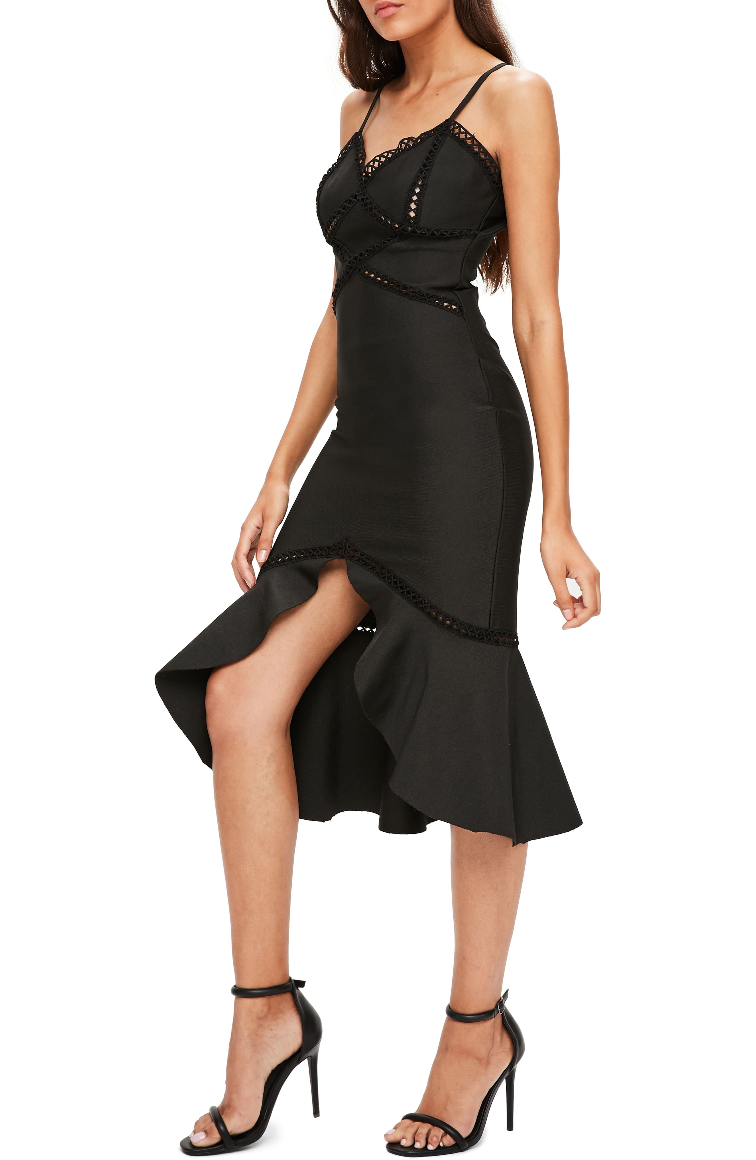 Alternate Image 3  - Missguided Midi Body-Con Dress