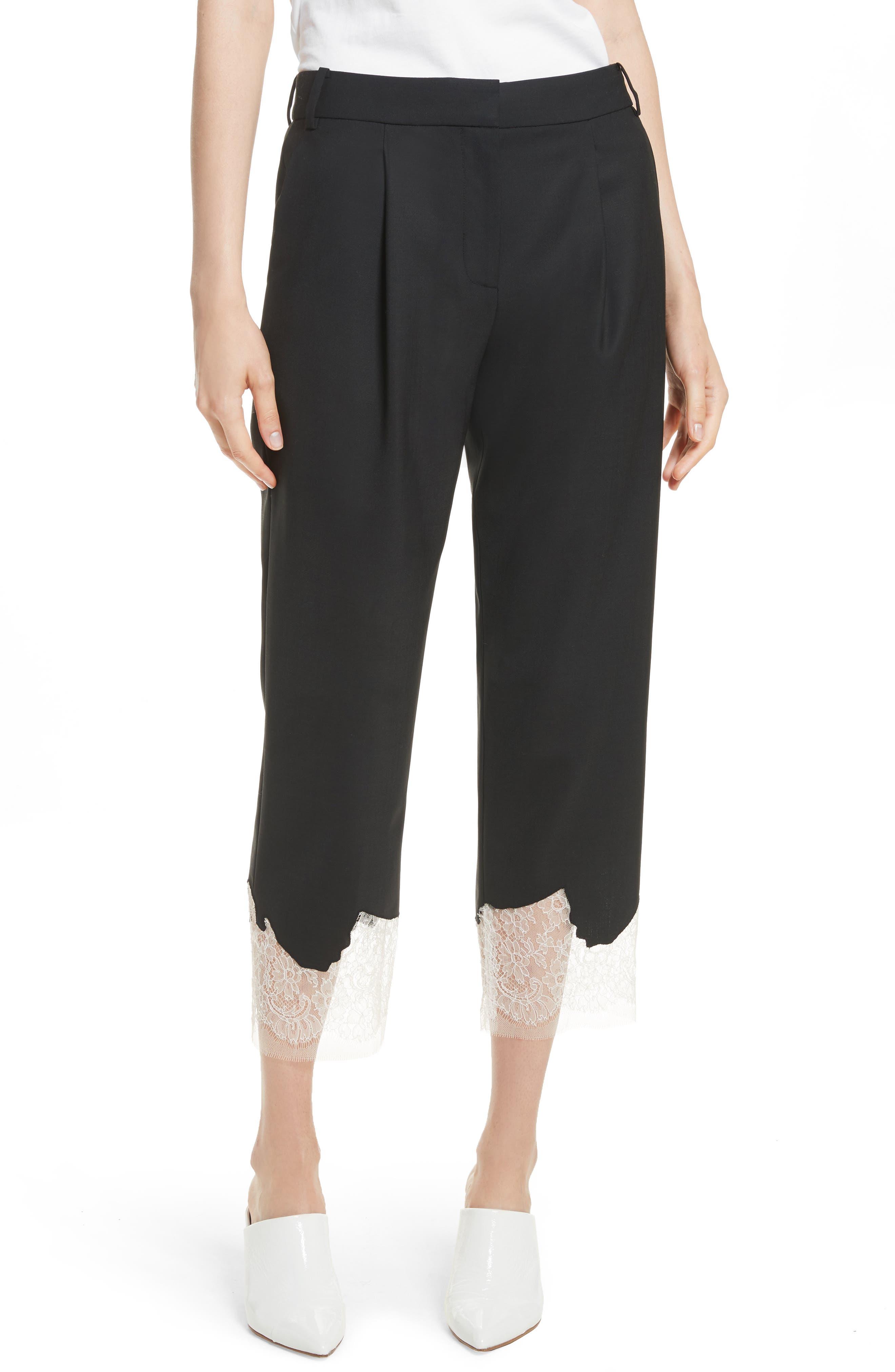 Tibi Lou Lou Appliqué Trousers
