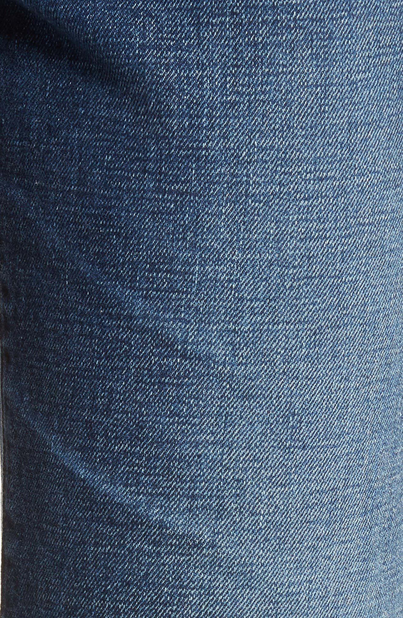 The Rhett Vintage High Waist Crop Jeans,                             Alternate thumbnail 7, color,                             11 Years Jubilee