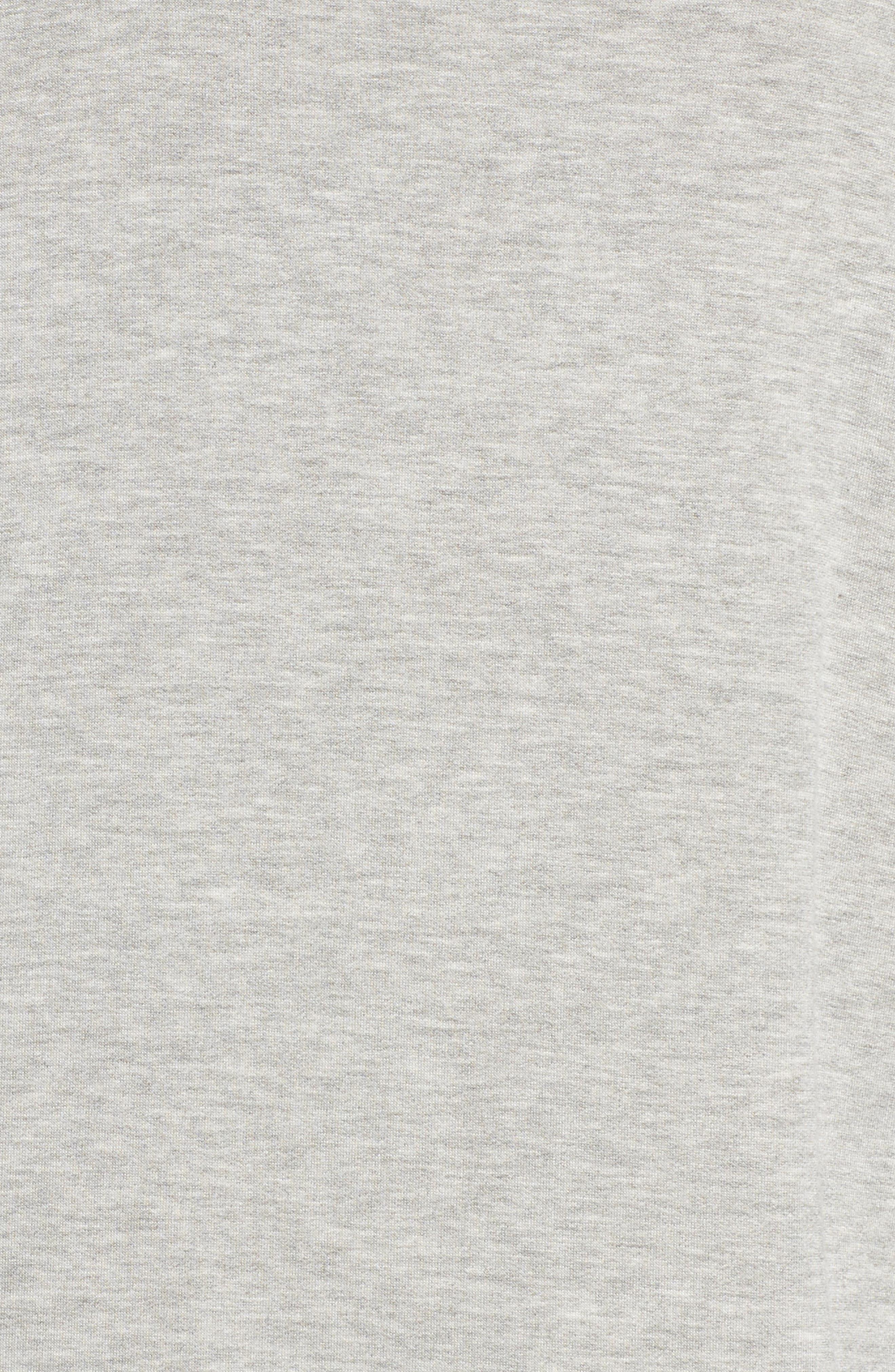 Restart Funnel Neck Pullover,                             Alternate thumbnail 6, color,                             Light Heather Grey
