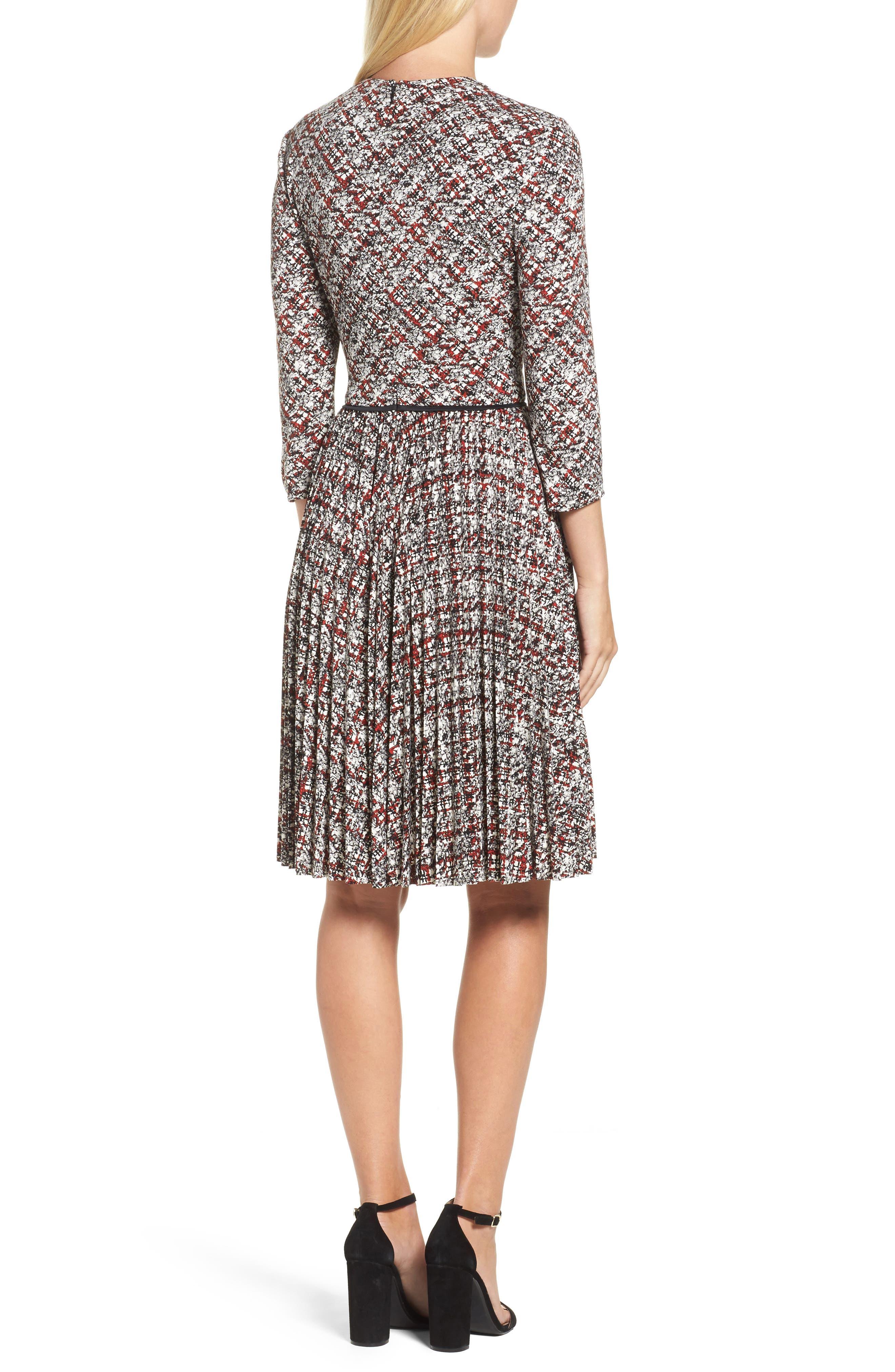 Alternate Image 2  - Maggy London Fit & Flare Dress (Regular & Petite)