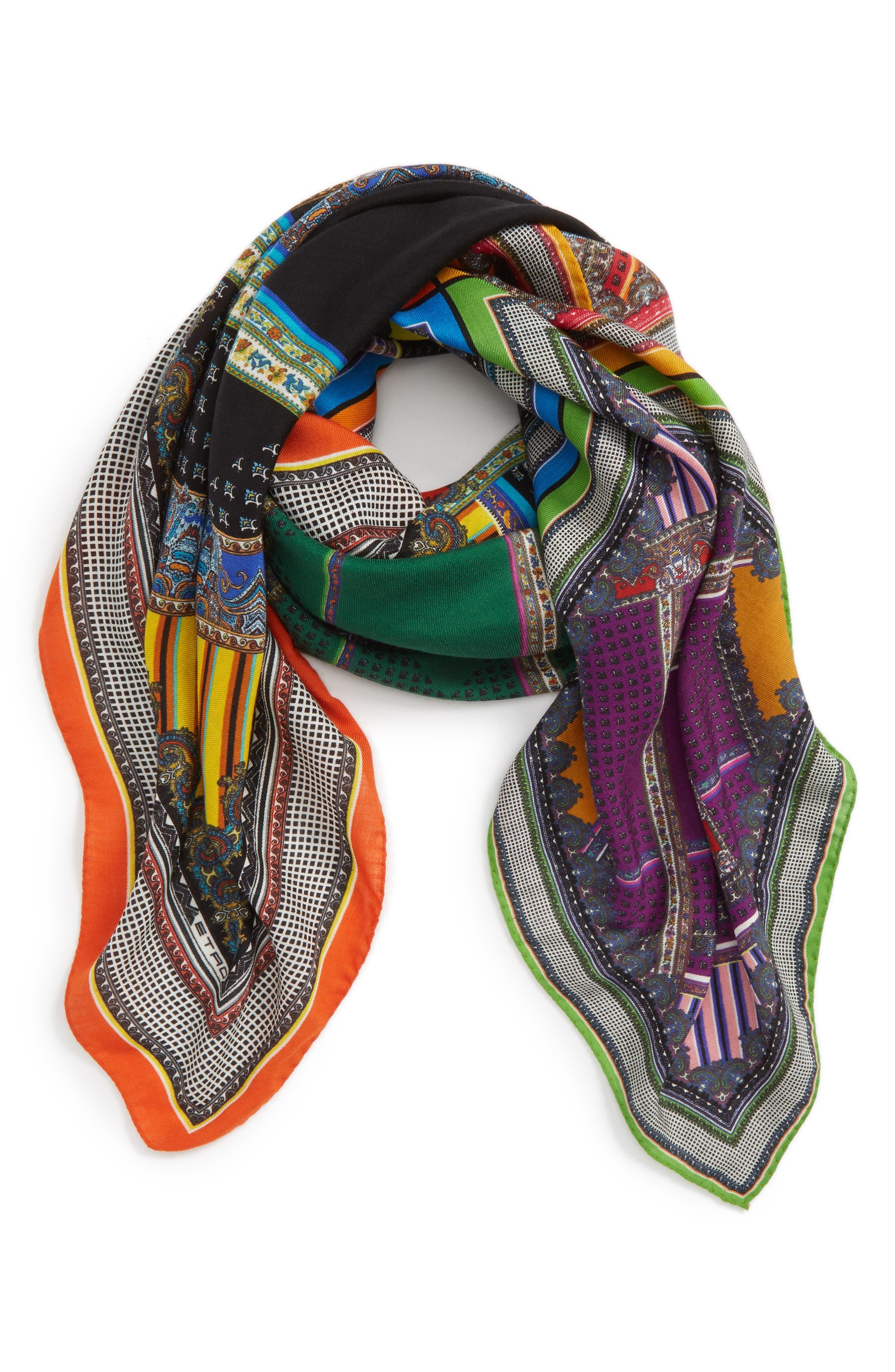 Alternate Image 2  - Etro Wool & Silk Scarf