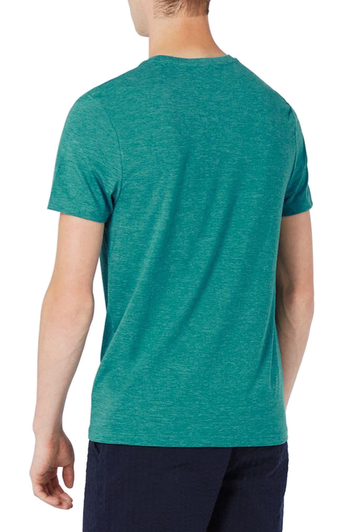 Alternate Image 2  - Topman Slim Fit Crewneck T-Shirt