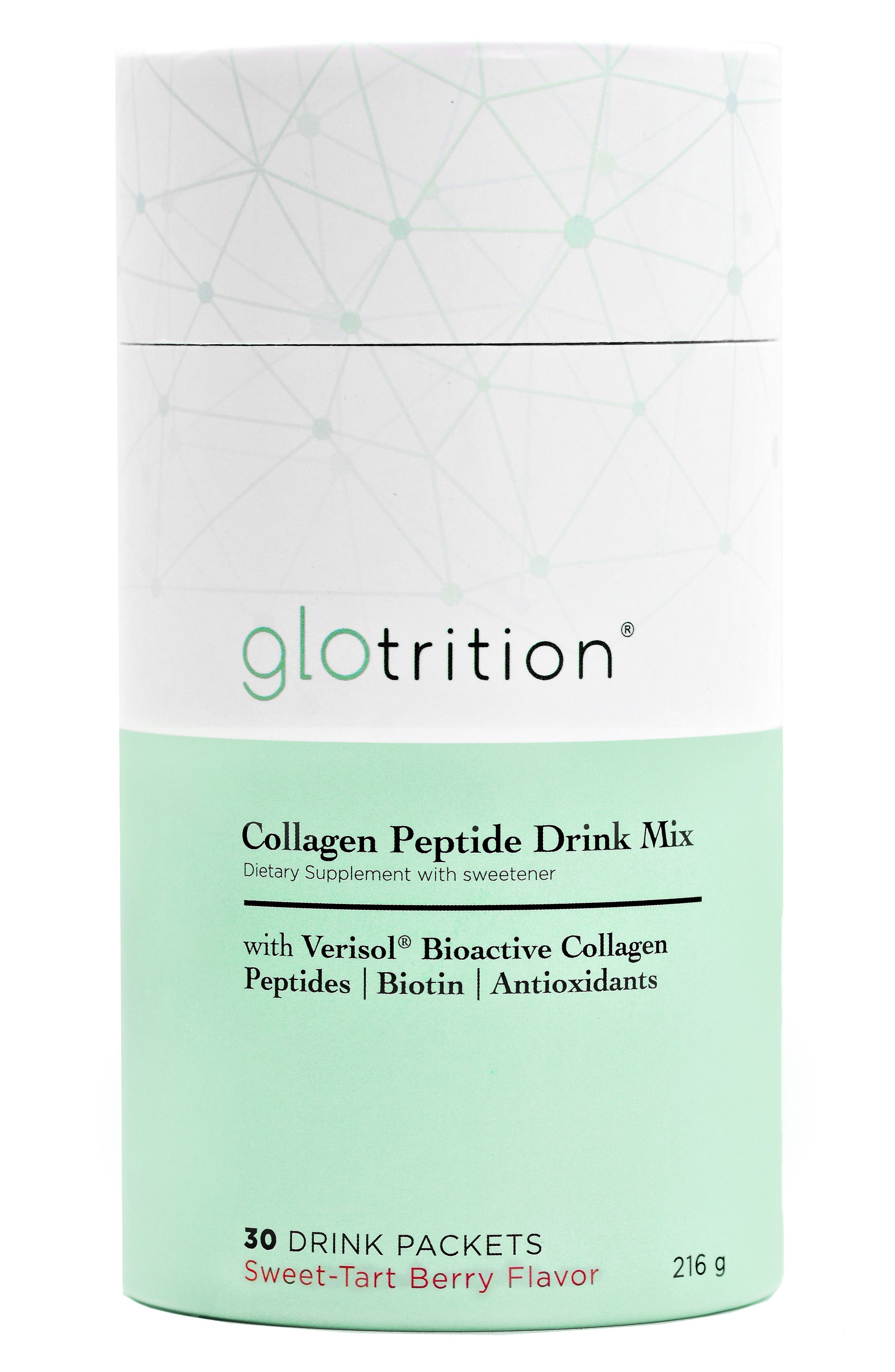 Collagen Peptide Drink Mix,                             Main thumbnail 1, color,                             No Color