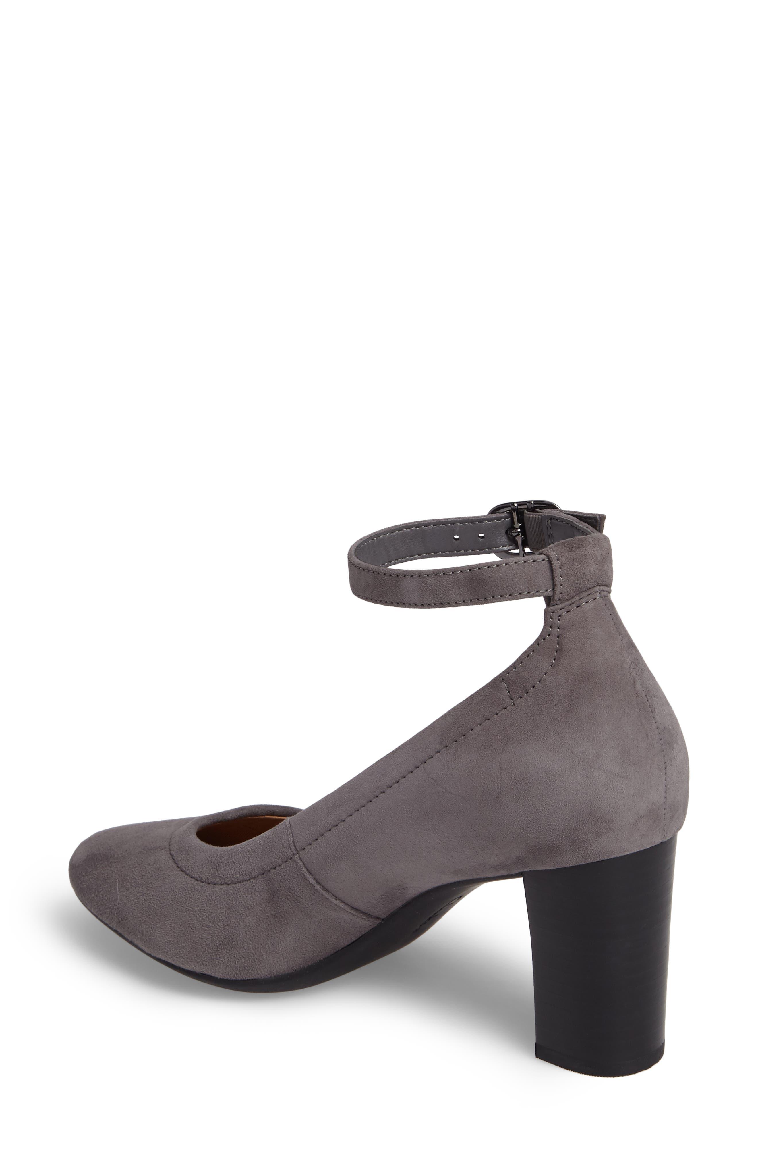 Alternate Image 2  - Clarks® Chryssa Jana Ankle Strap Pump (Women)