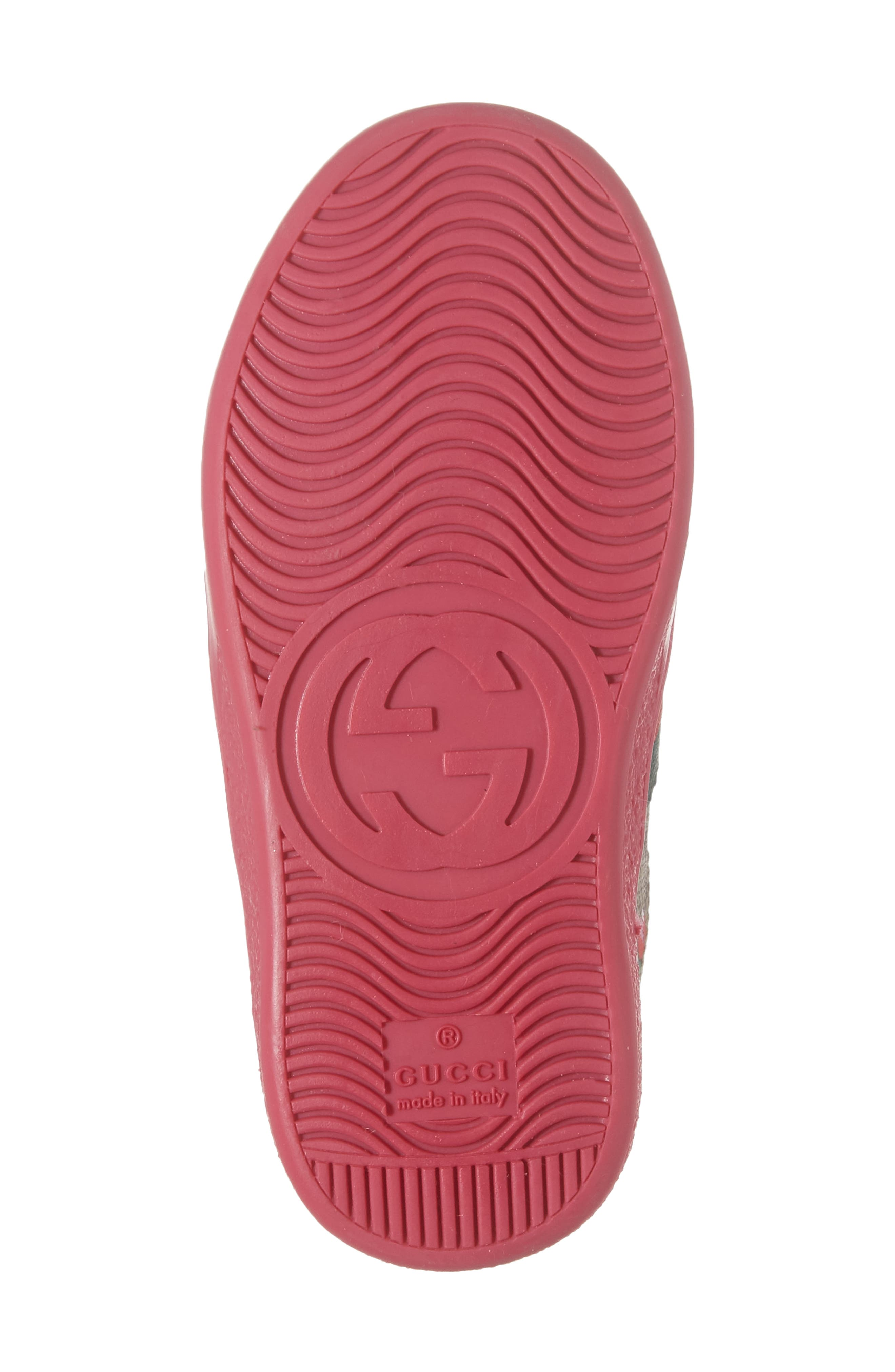 Alternate Image 6  - Gucci New Ace Monogram Sneaker (Baby, Walker & Toddler)