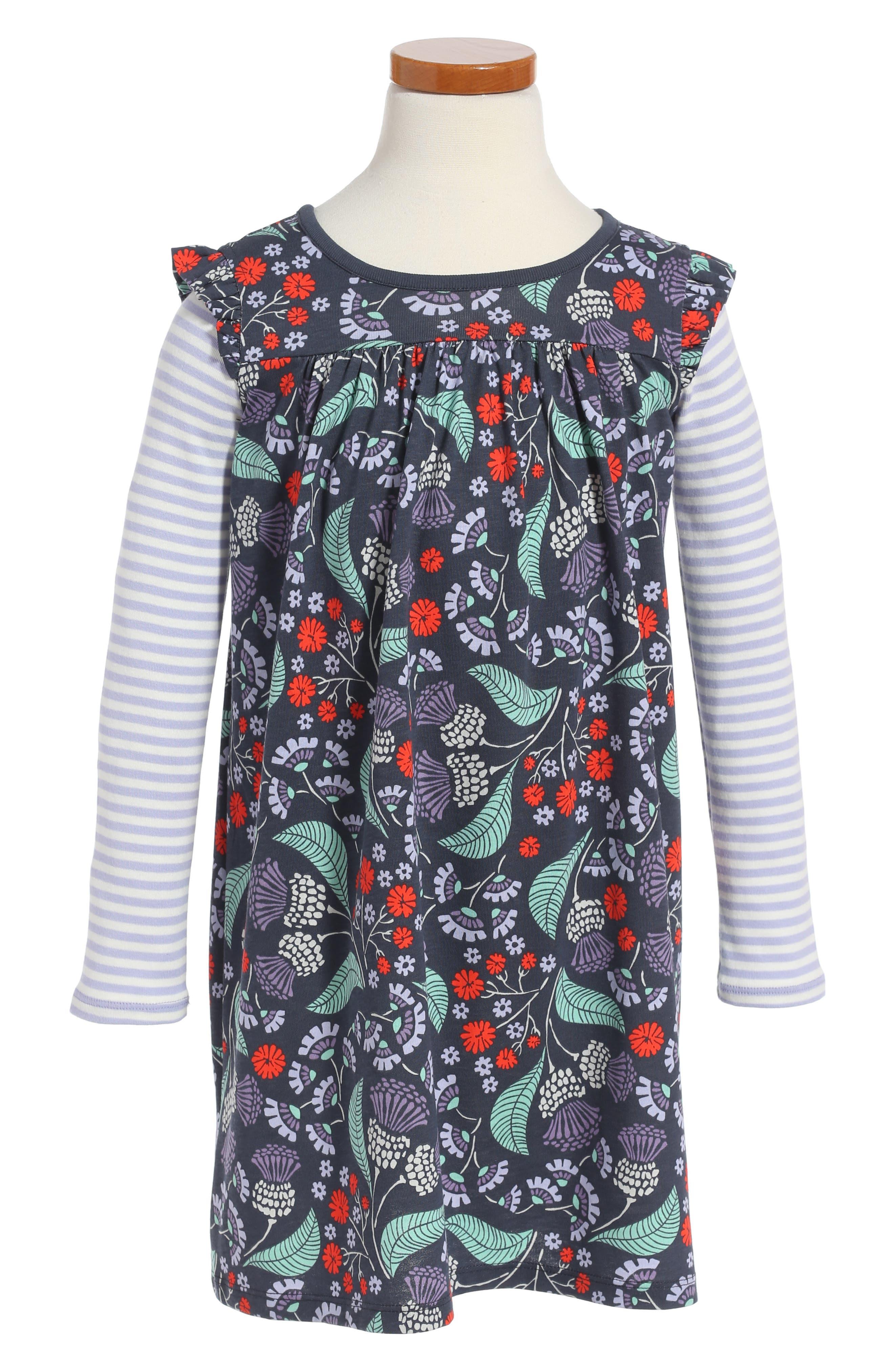 Tea Collection Thistle Print Dress (Toddler Girls, Little Girls & Big Girls)