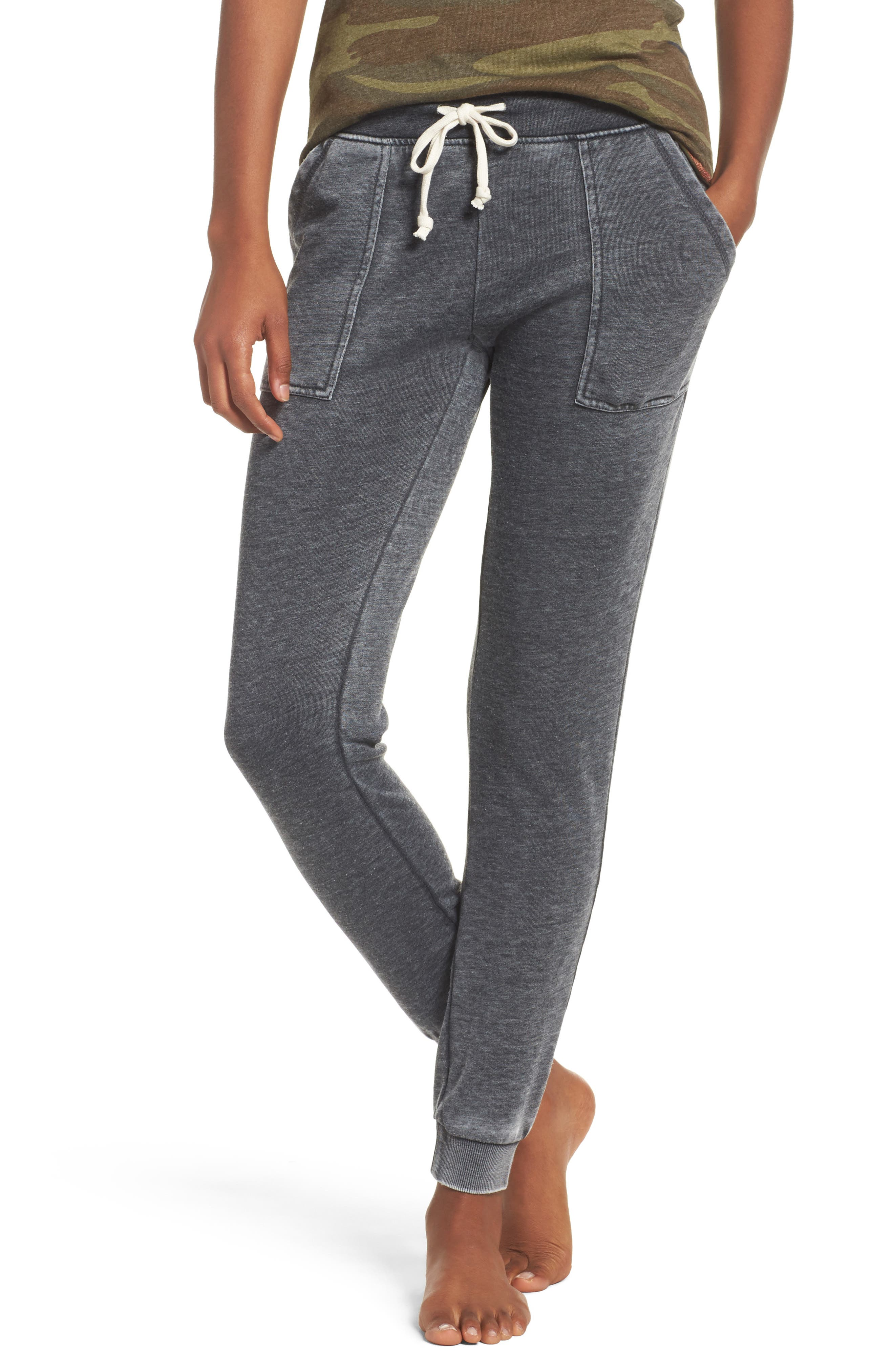 Long Weekend Pants,                         Main,                         color, Washed Black