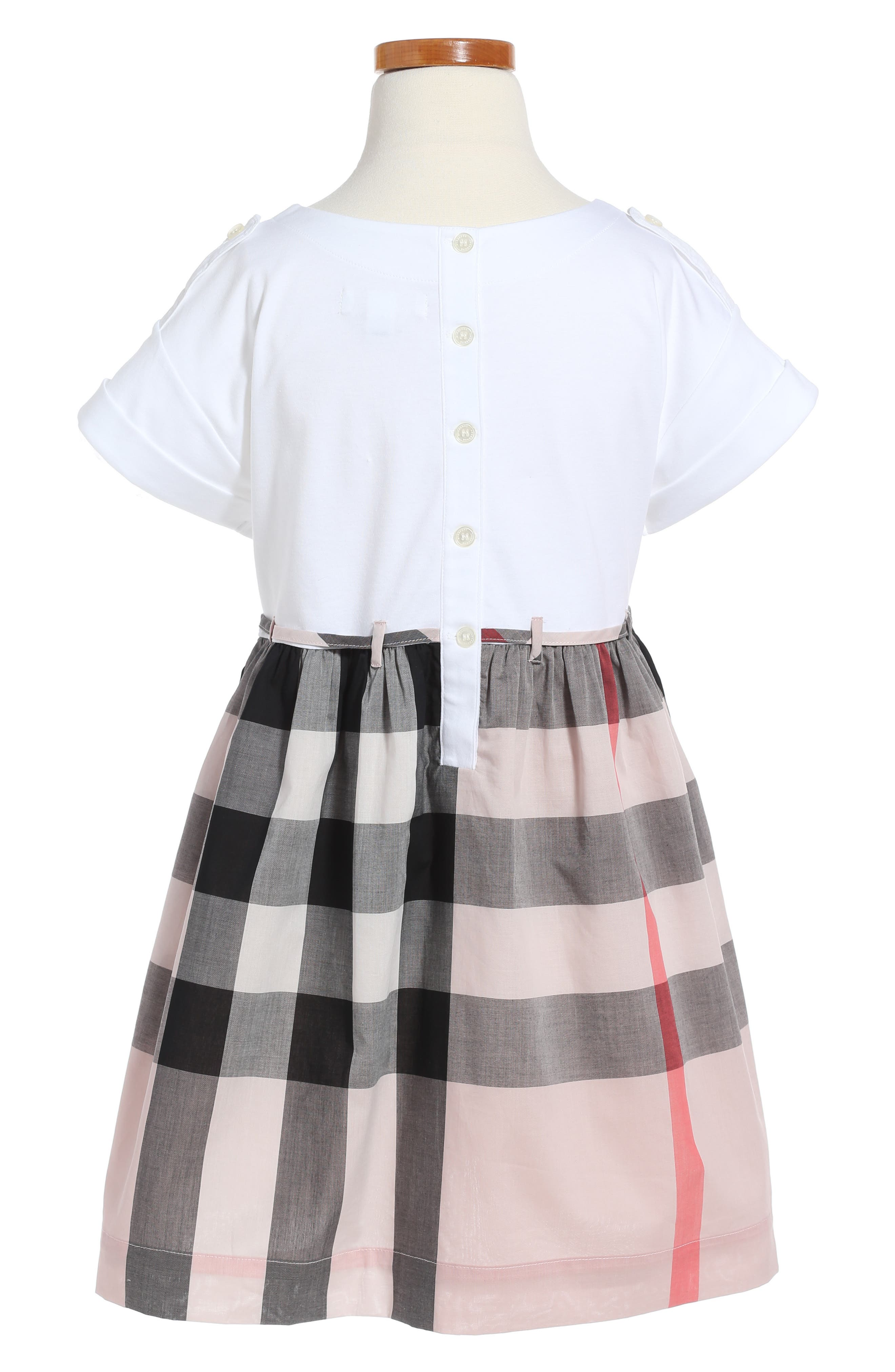 Alternate Image 2  - Burberry Rhonda Dress (Little Girls & Big Girls)