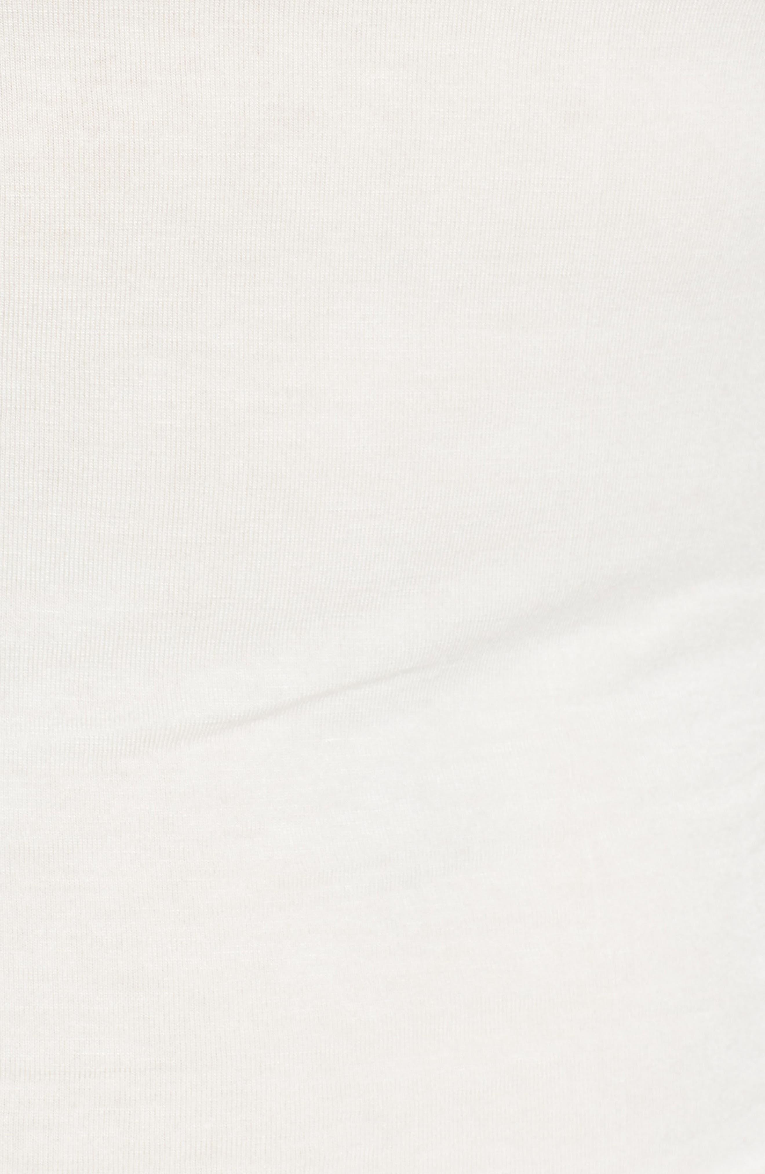 Long Sleeve Turtleneck,                             Alternate thumbnail 5, color,                             Ivory Cloud