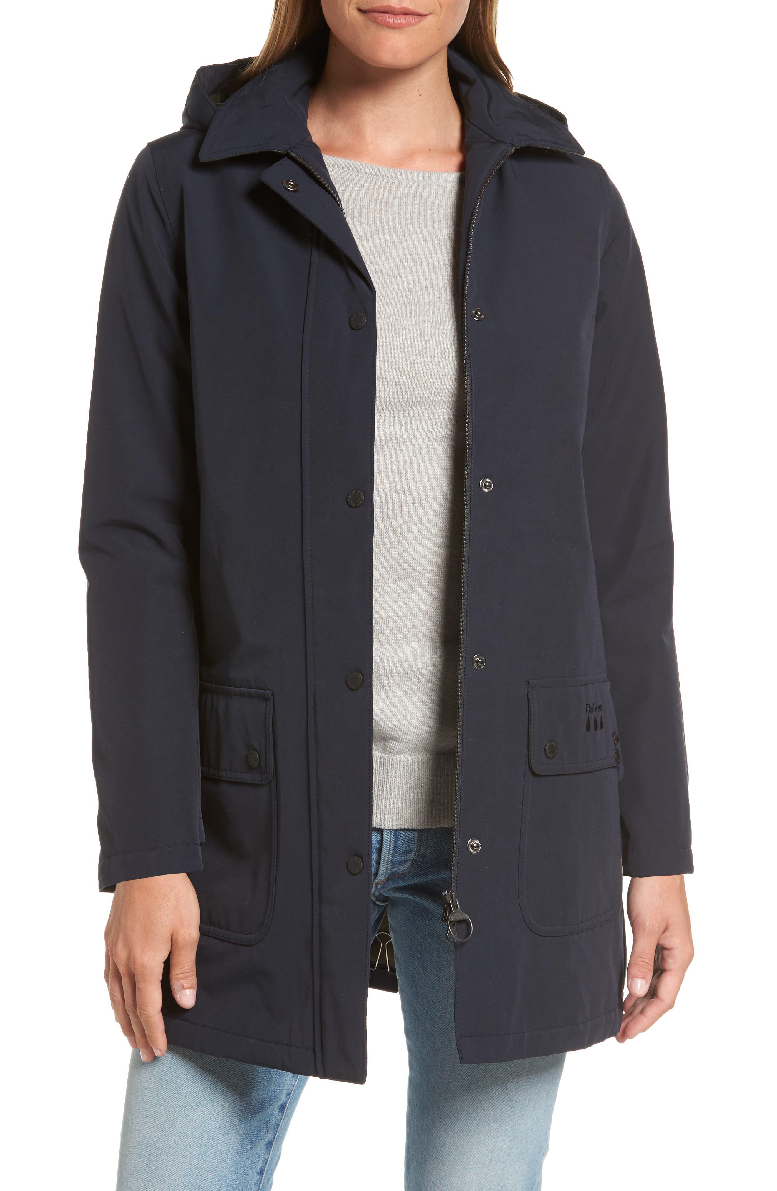 Barbour Cirro Waterproof Hooded Jacket