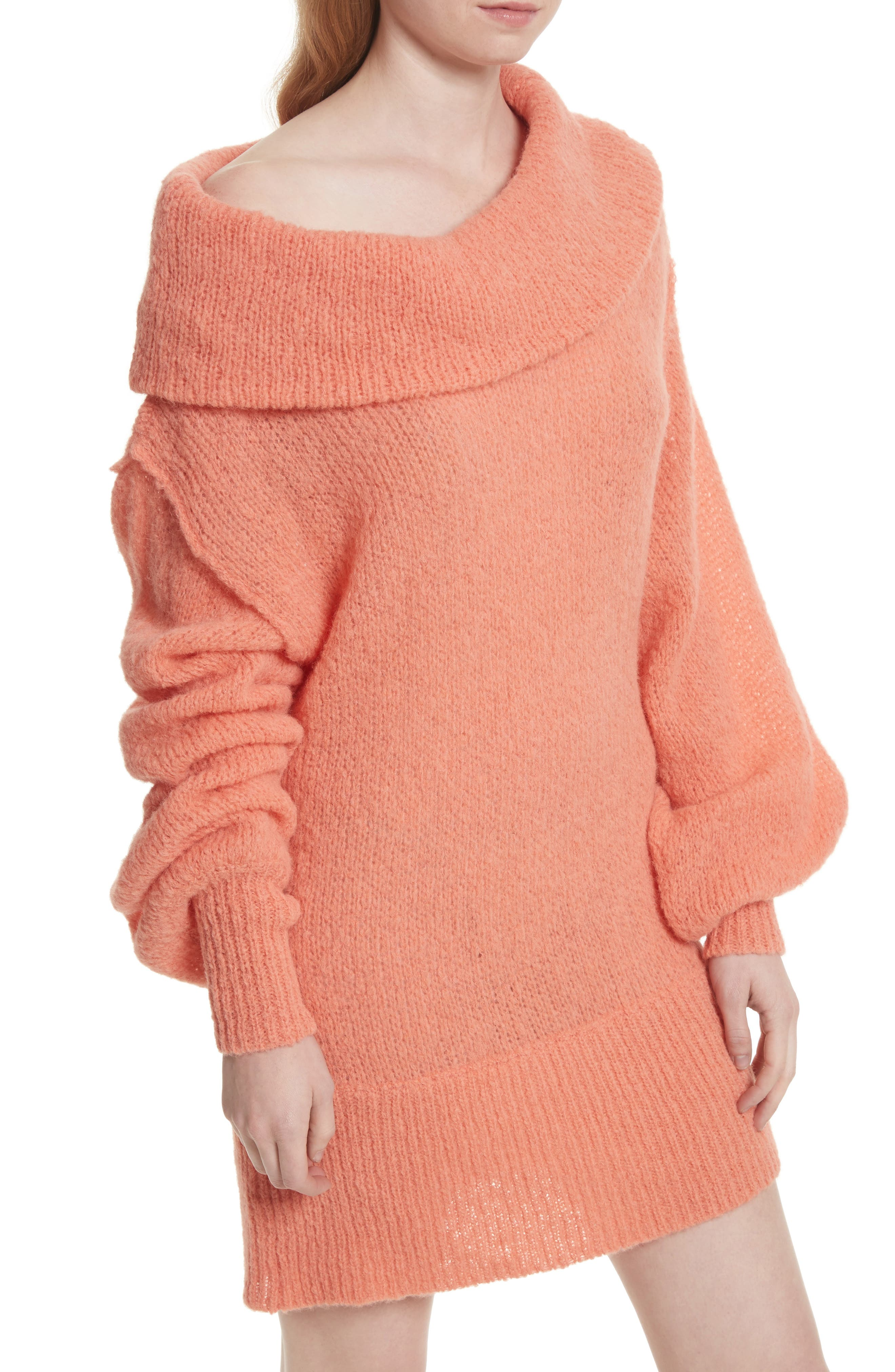 Alternate Image 4  - Free People Ophelia Off the Shoulder Sweater