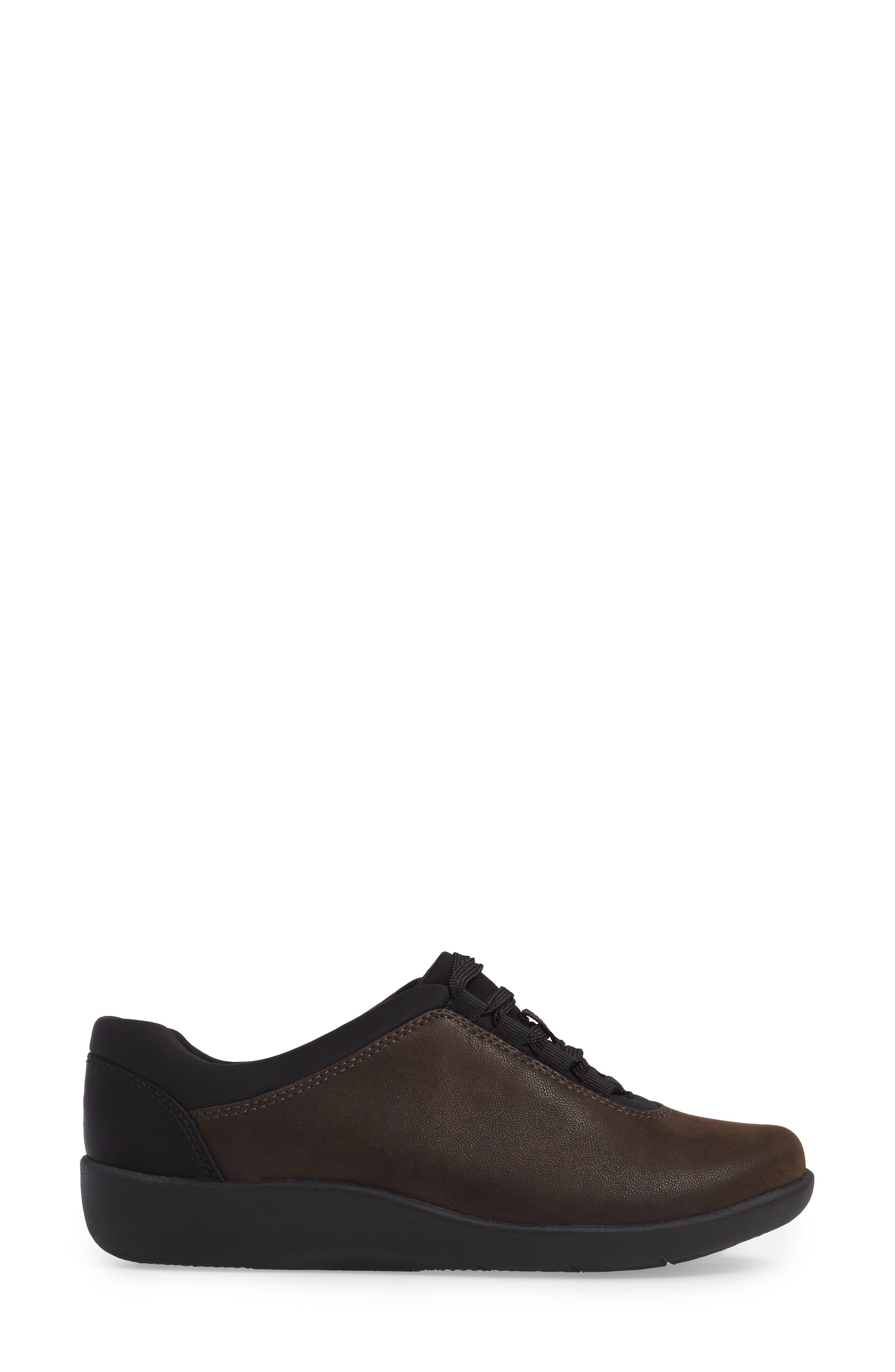 Sillian Pine Sneaker,                             Alternate thumbnail 3, color,                             Brown Canvas