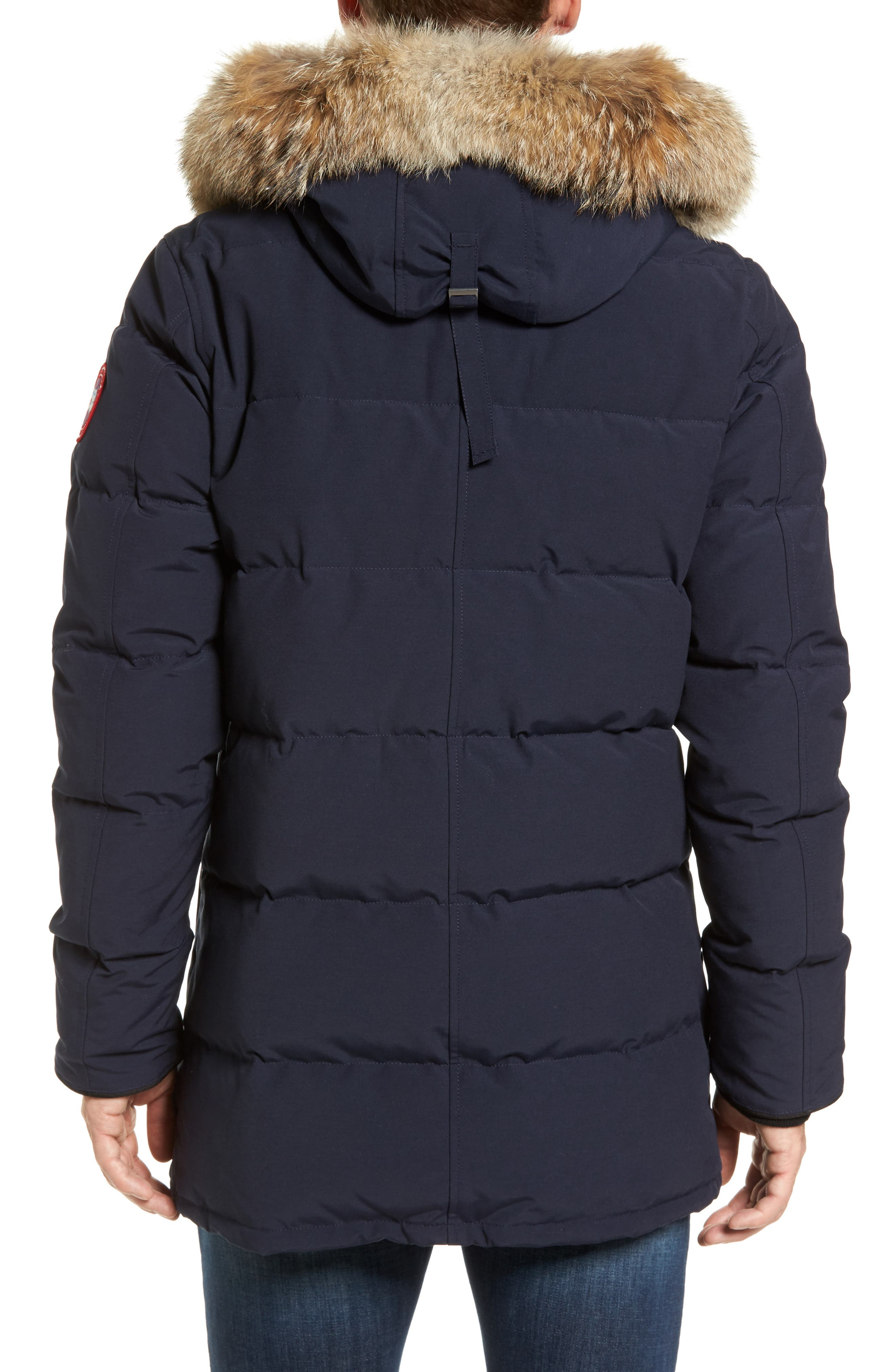 Alternate Image 2  - Canada Goose 'Carson' Slim Fit Hooded Packable Parka with Genuine Coyote Fur Trim