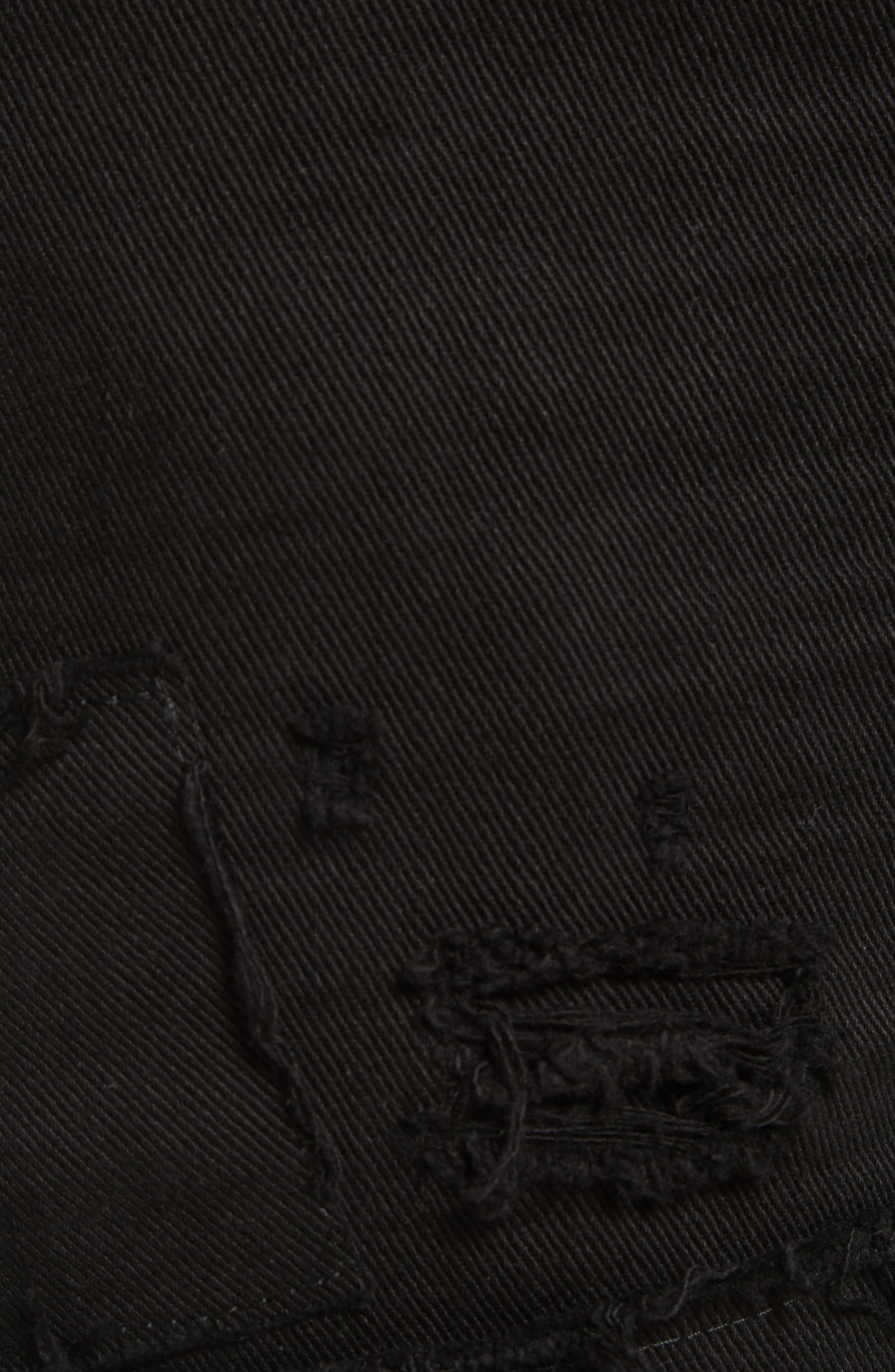 Ripped Washed Cool Guy Jeans,                             Alternate thumbnail 5, color,                             Black