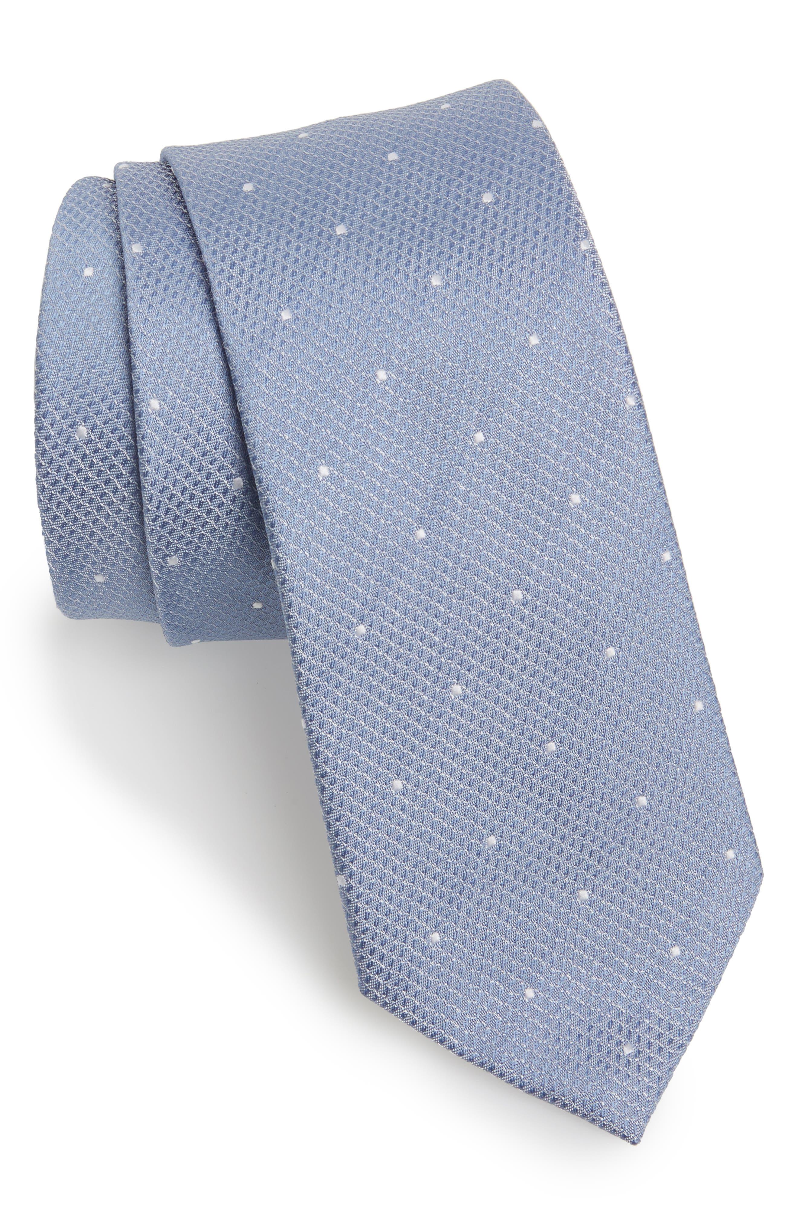 Main Image - Topman Dot Woven Tie