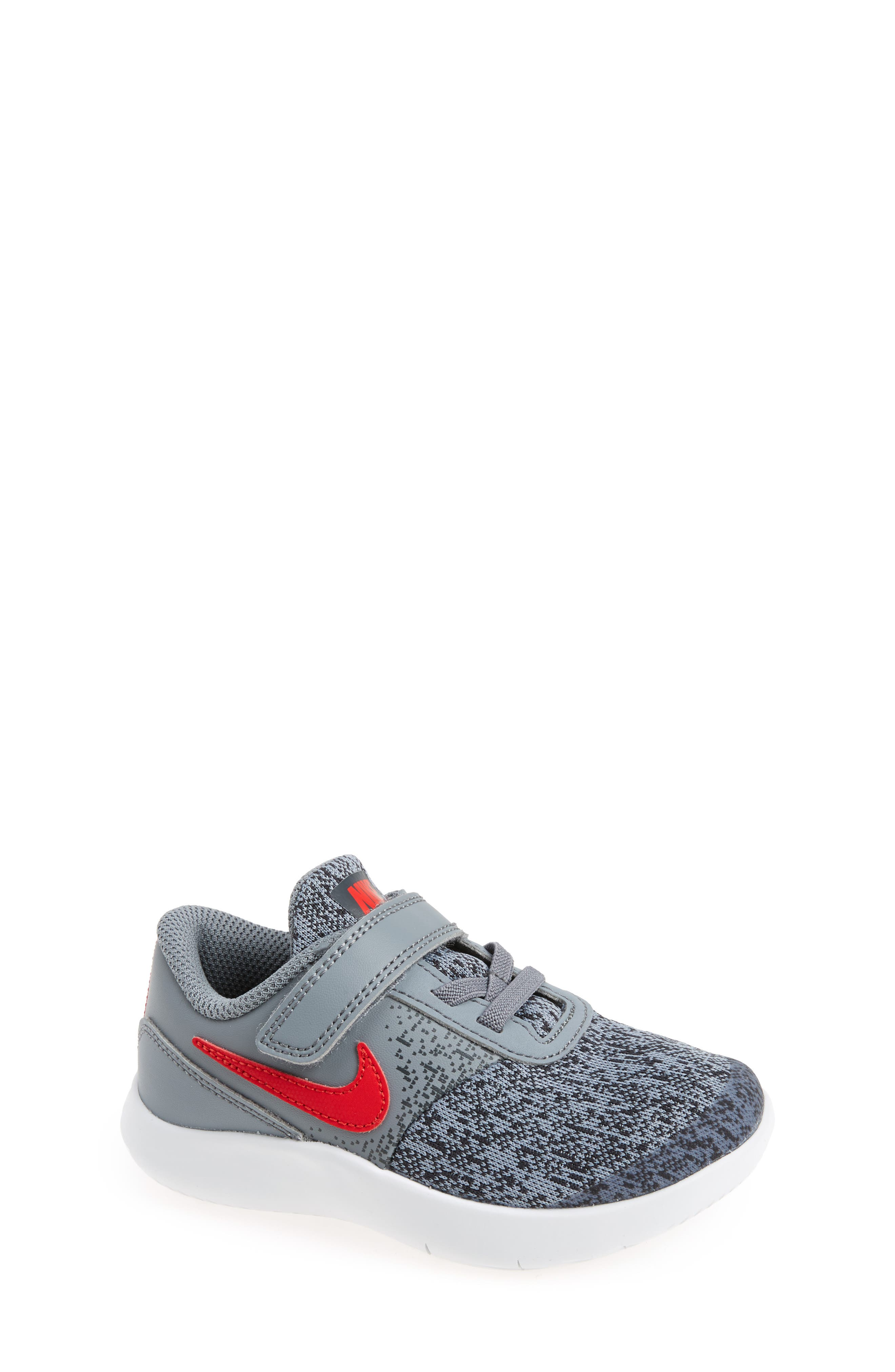 Flex Contact Sneaker,                             Main thumbnail 1, color,                             Cool Grey/ University Red