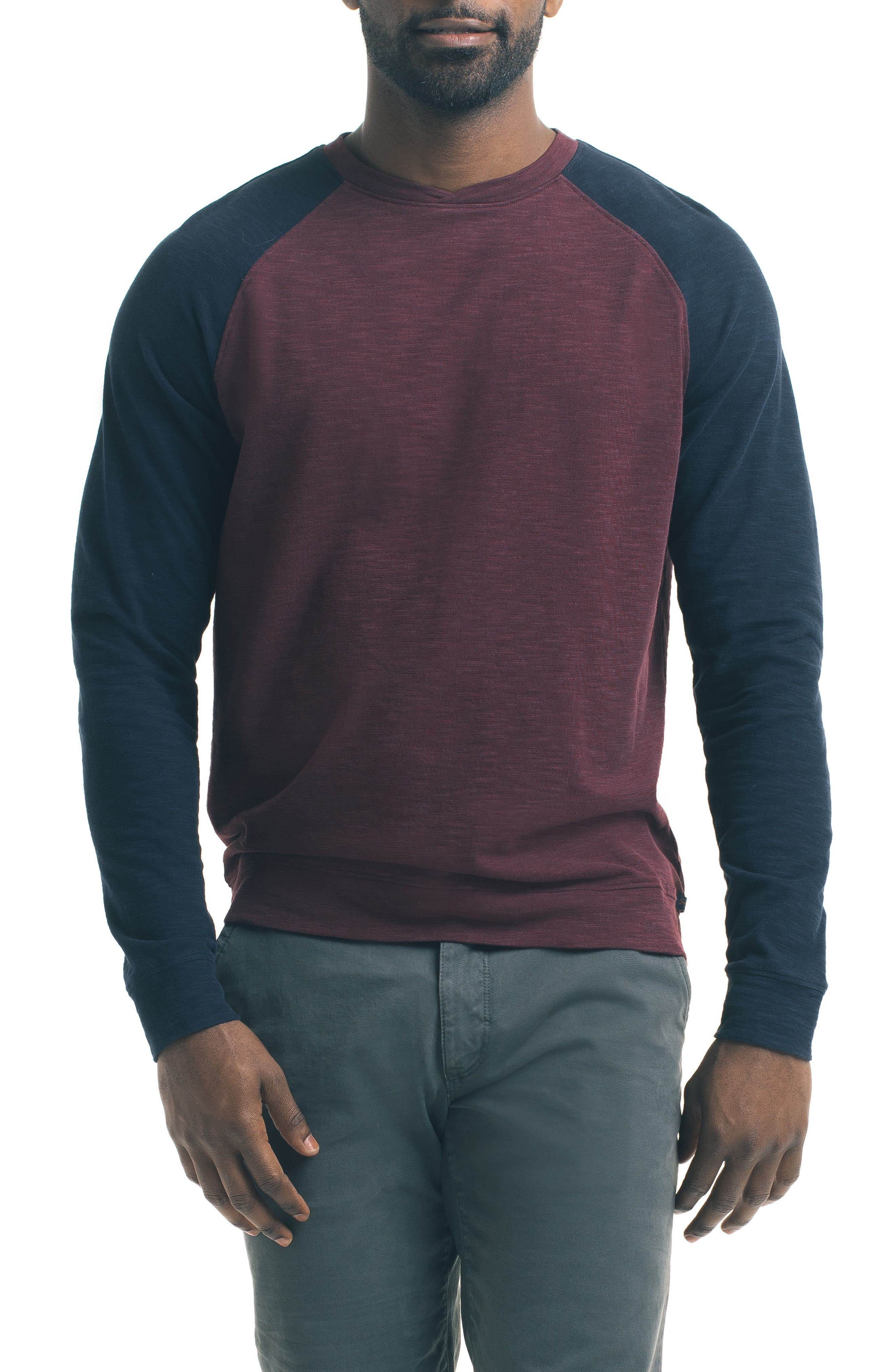 Good Man Brand Slim Raglan Sleeve T-Shirt