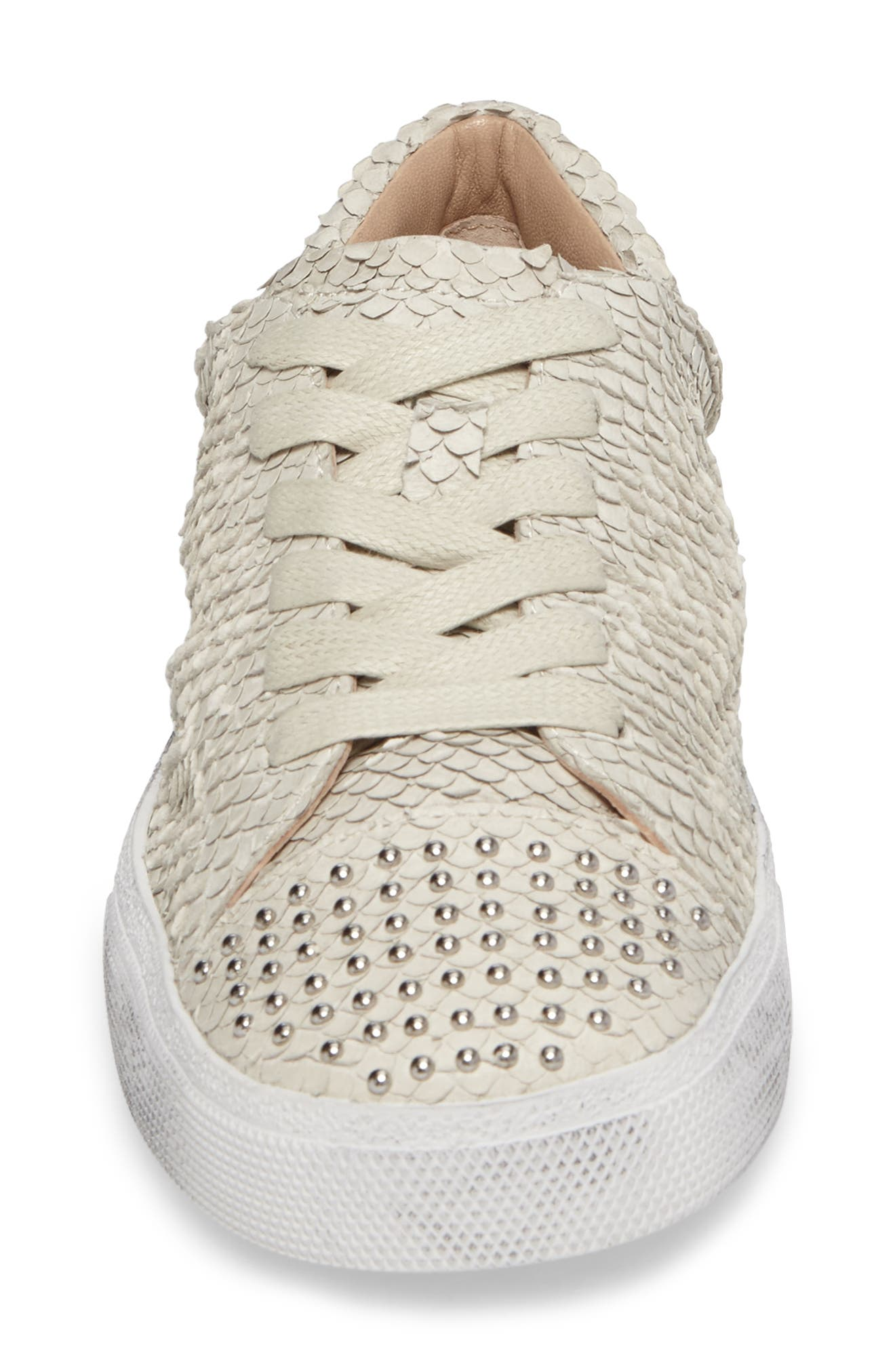 Catcall Studded Sneaker,                             Alternate thumbnail 4, color,                             Vodka/ Silver
