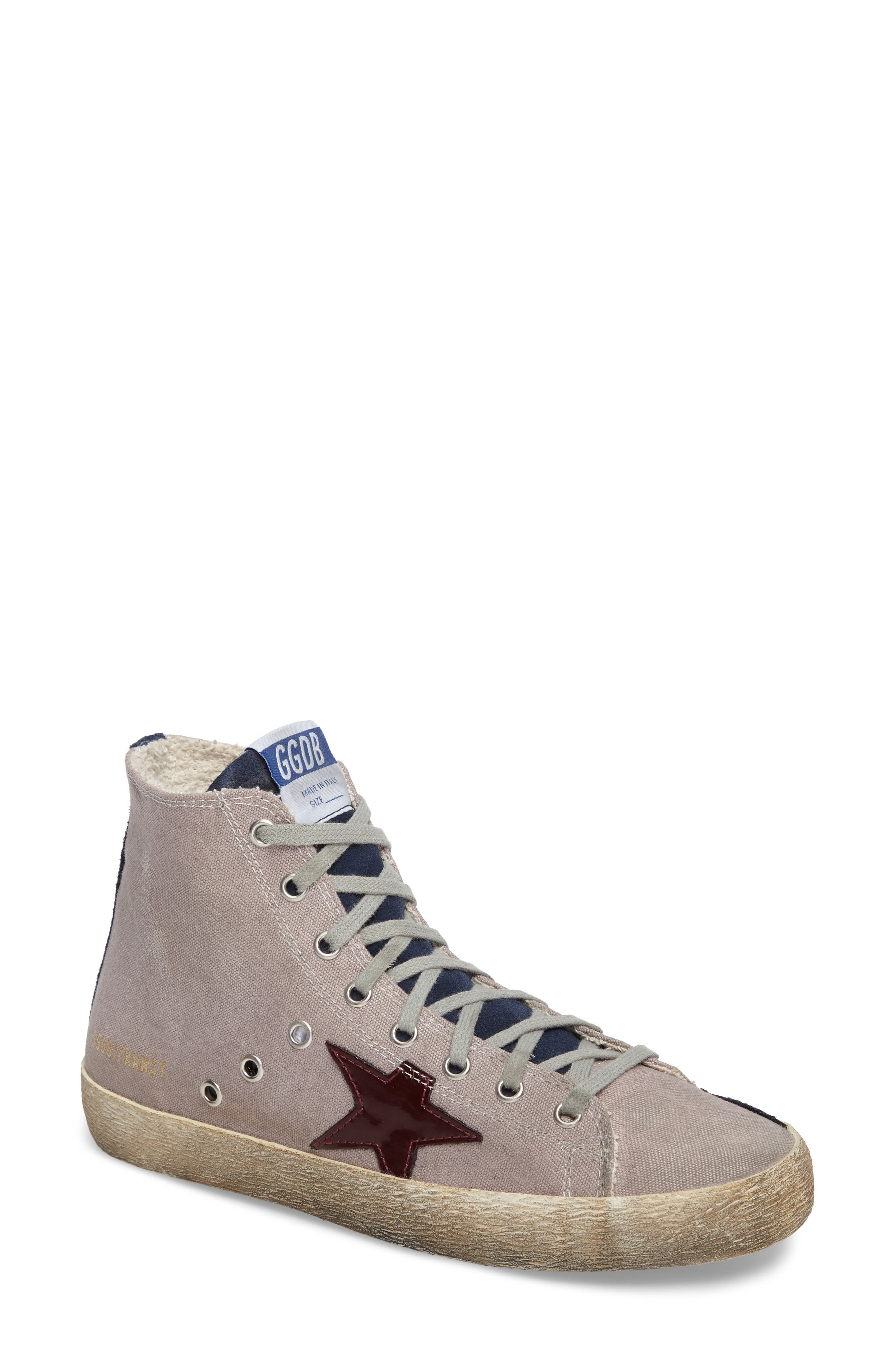 Alternate Image 1 Selected - Golden Goose Francy Mid Top Sneaker (Women)