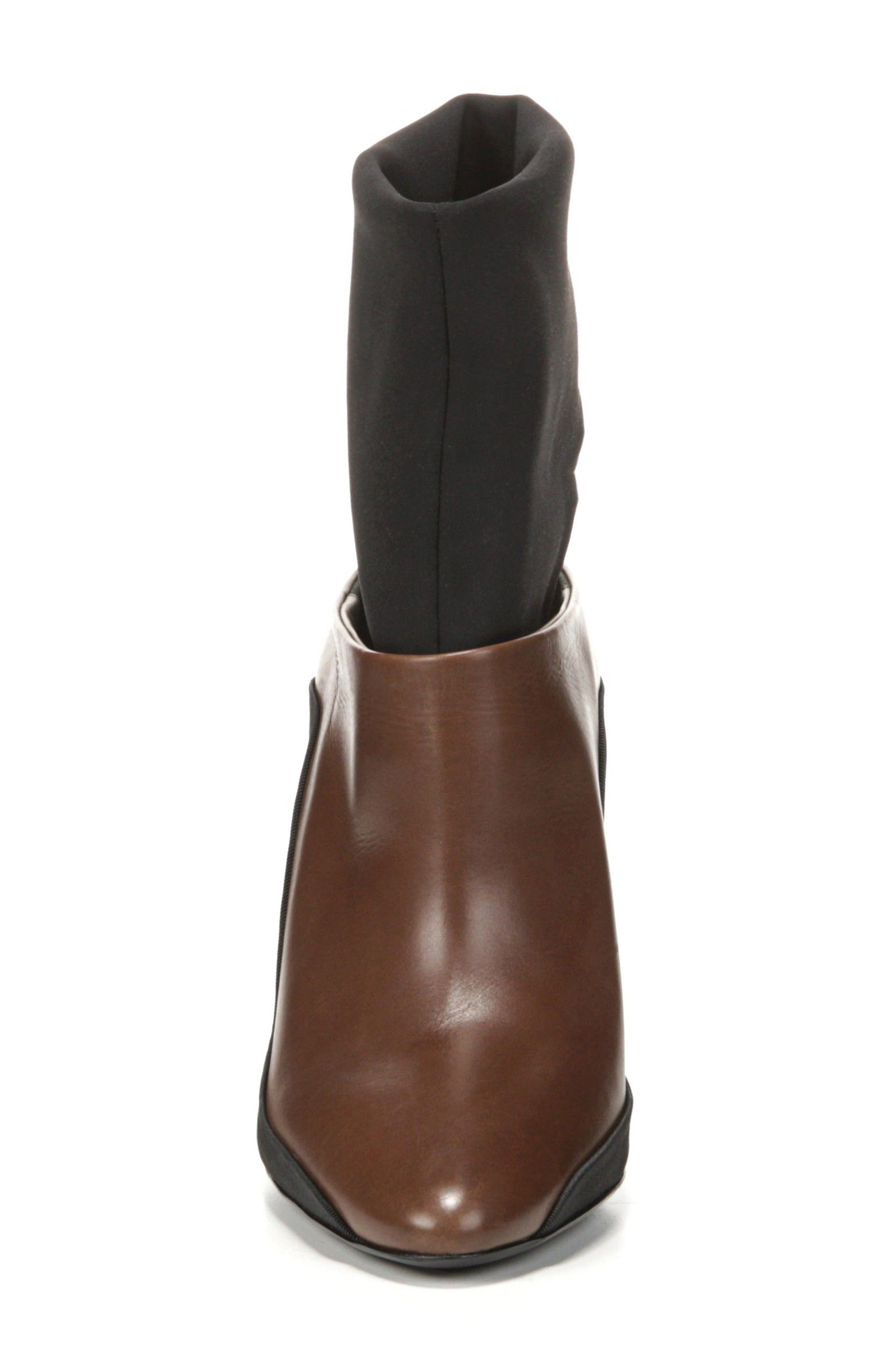 Agyness Cutout Boot,                             Alternate thumbnail 4, color,                             Bark Leather