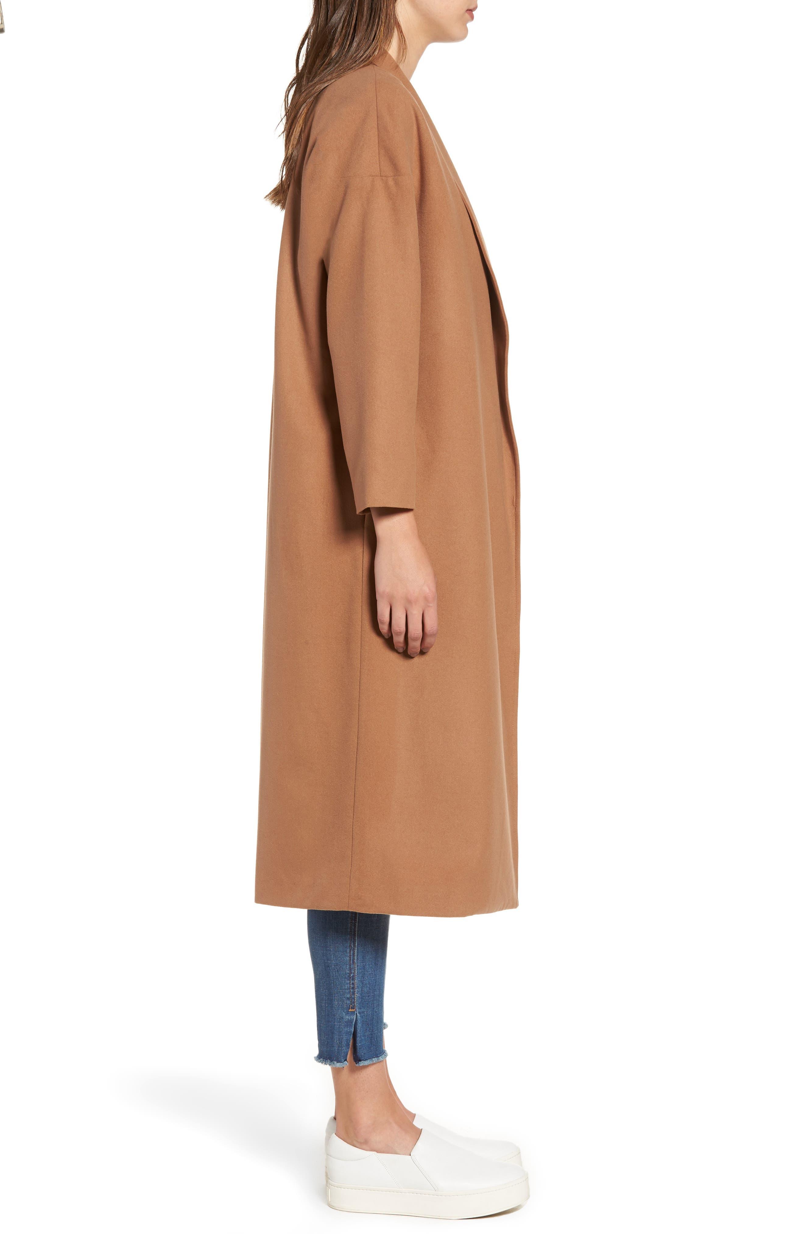Perfect Midi Coat,                             Alternate thumbnail 5, color,                             Camel