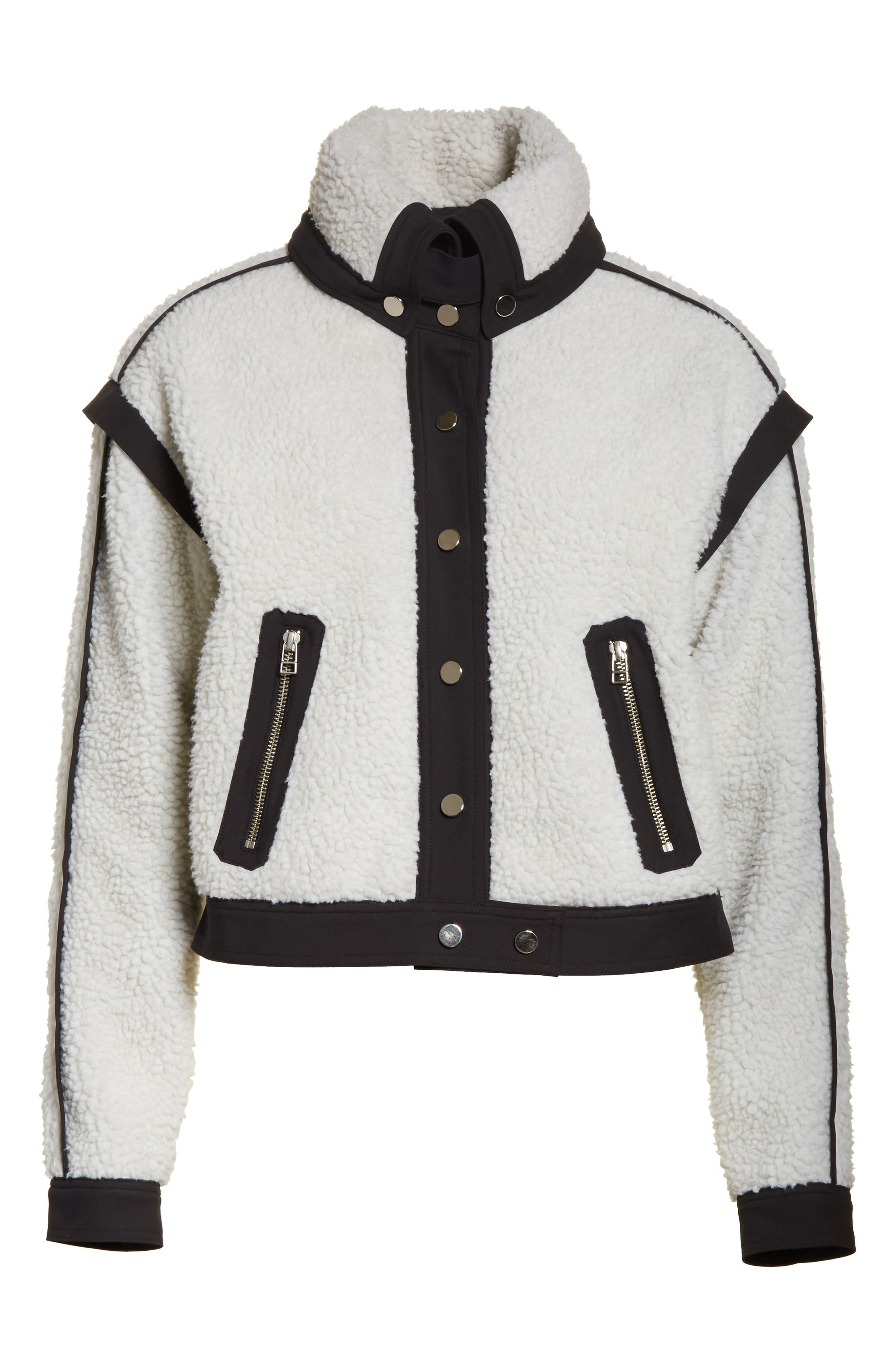 Alternate Image 6  - Veronica Beard Anita Fleece Jacket