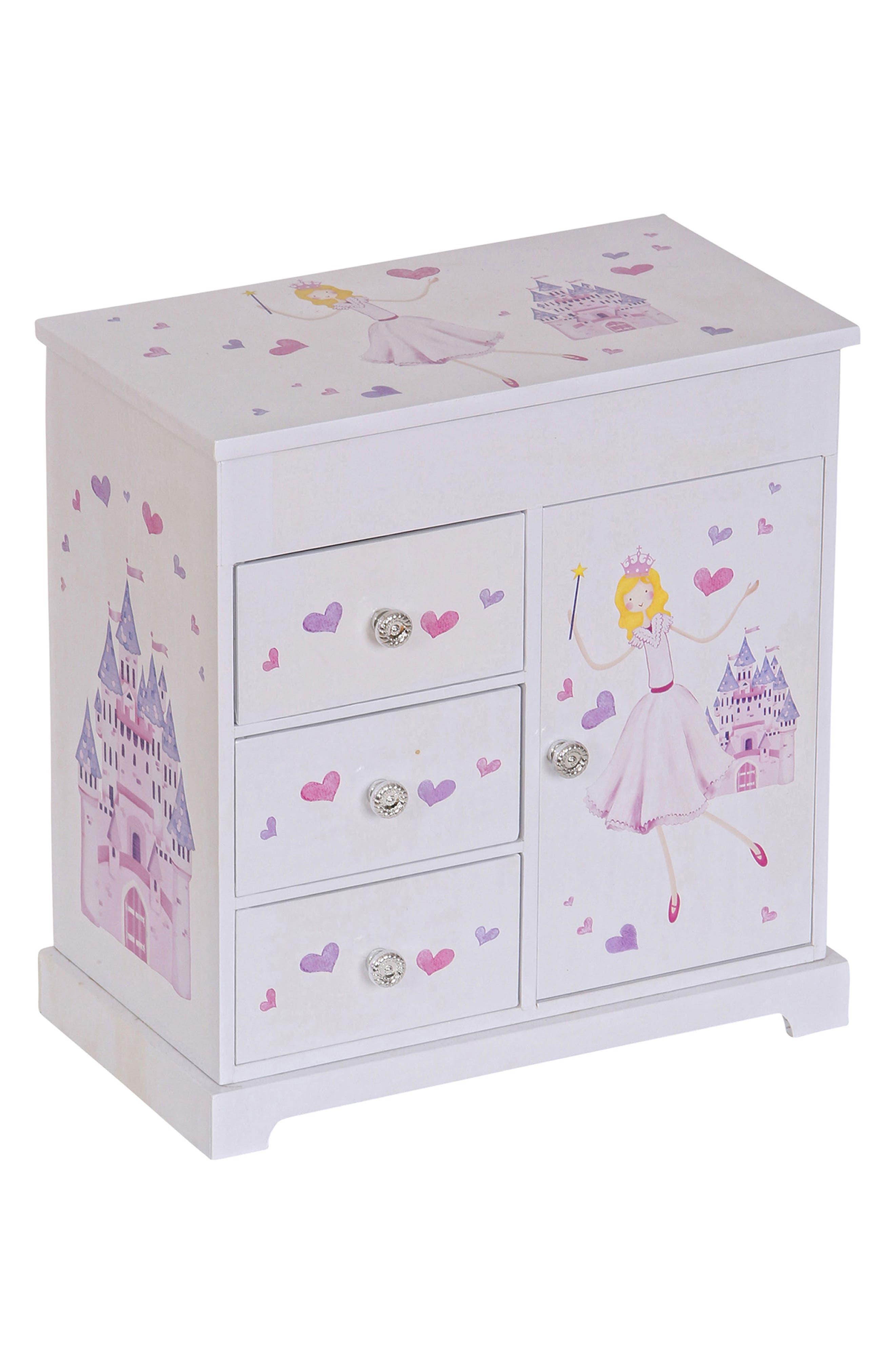 Main Image - Mele & Co. Adalyn Musical Jewelry Box (Girls)