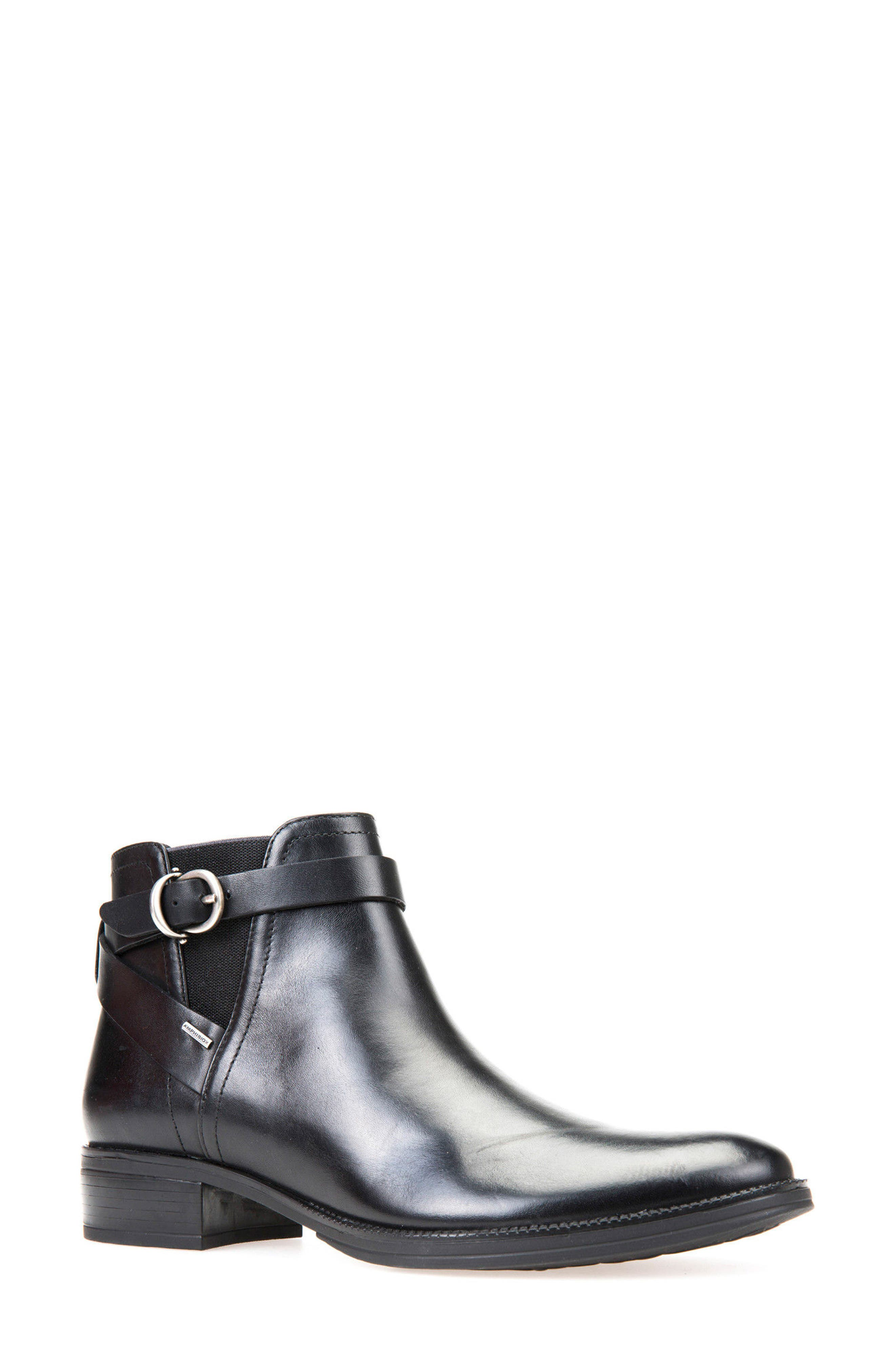 Alternate Image 1 Selected - Geox Mendi ABX Waterproof Bootie (Women)