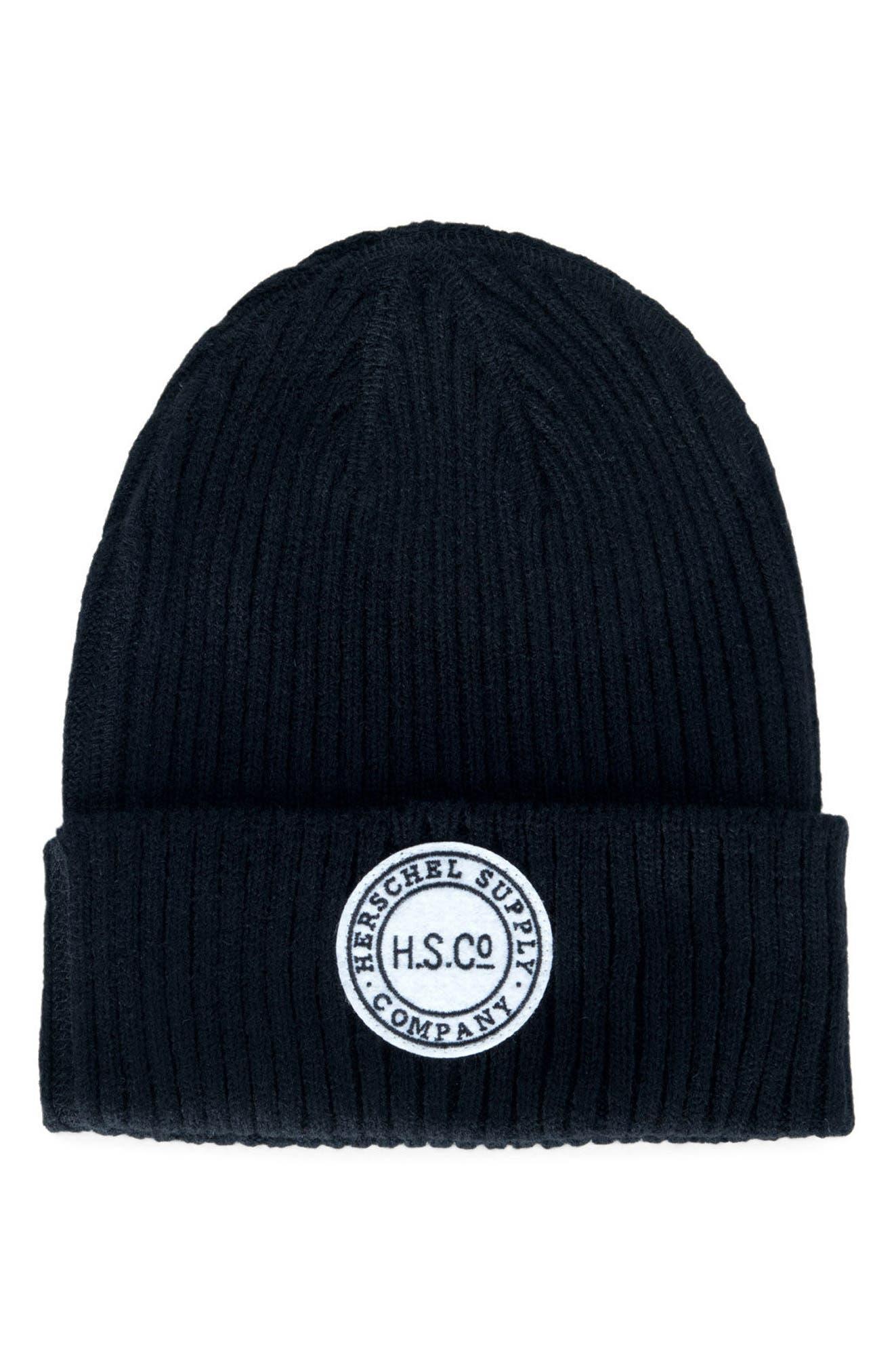 Herschel Supply Co. Aloft Rib Knit Cap