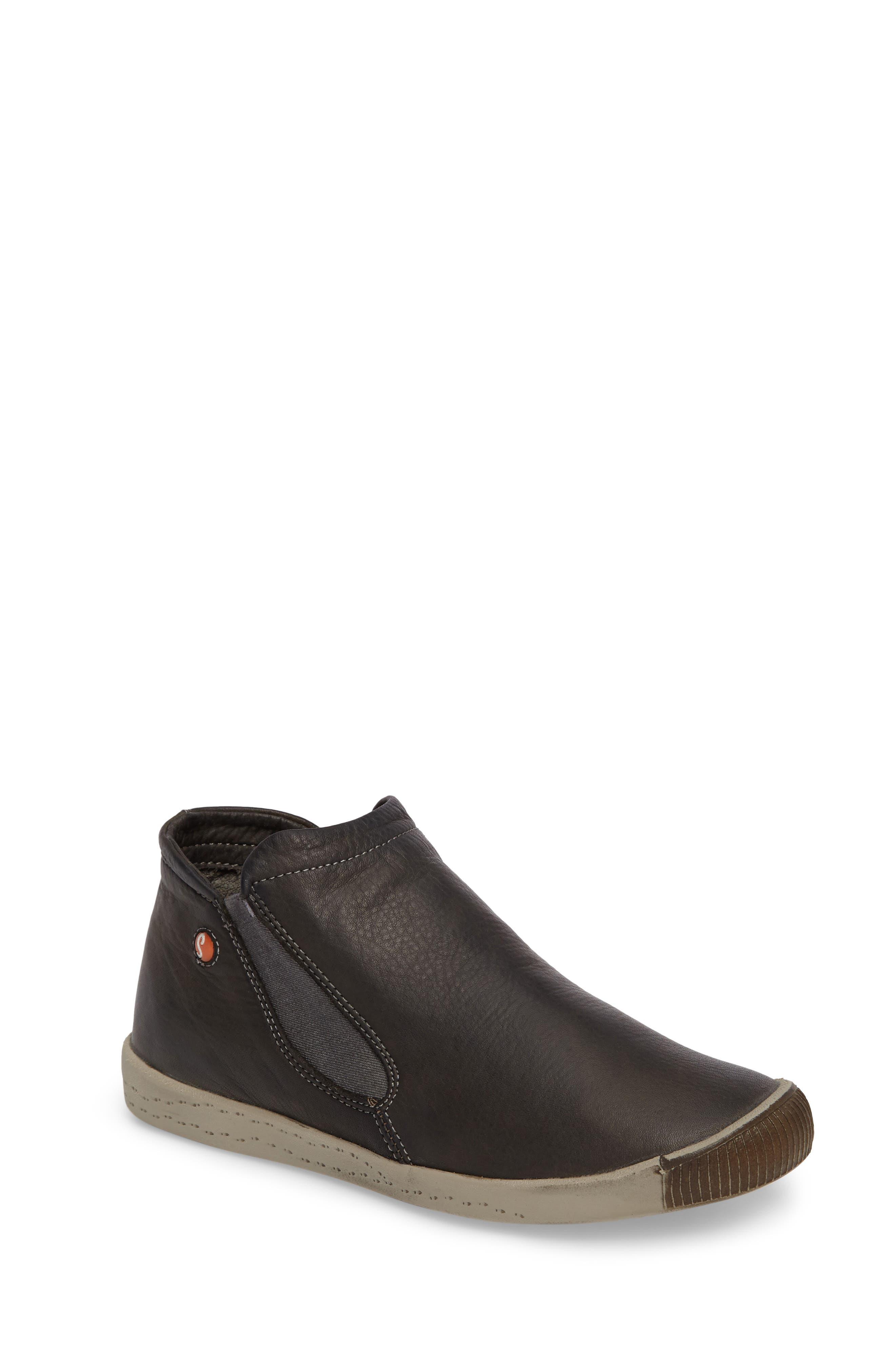 Inge Slip-On Sneaker,                         Main,                         color, Military Leather