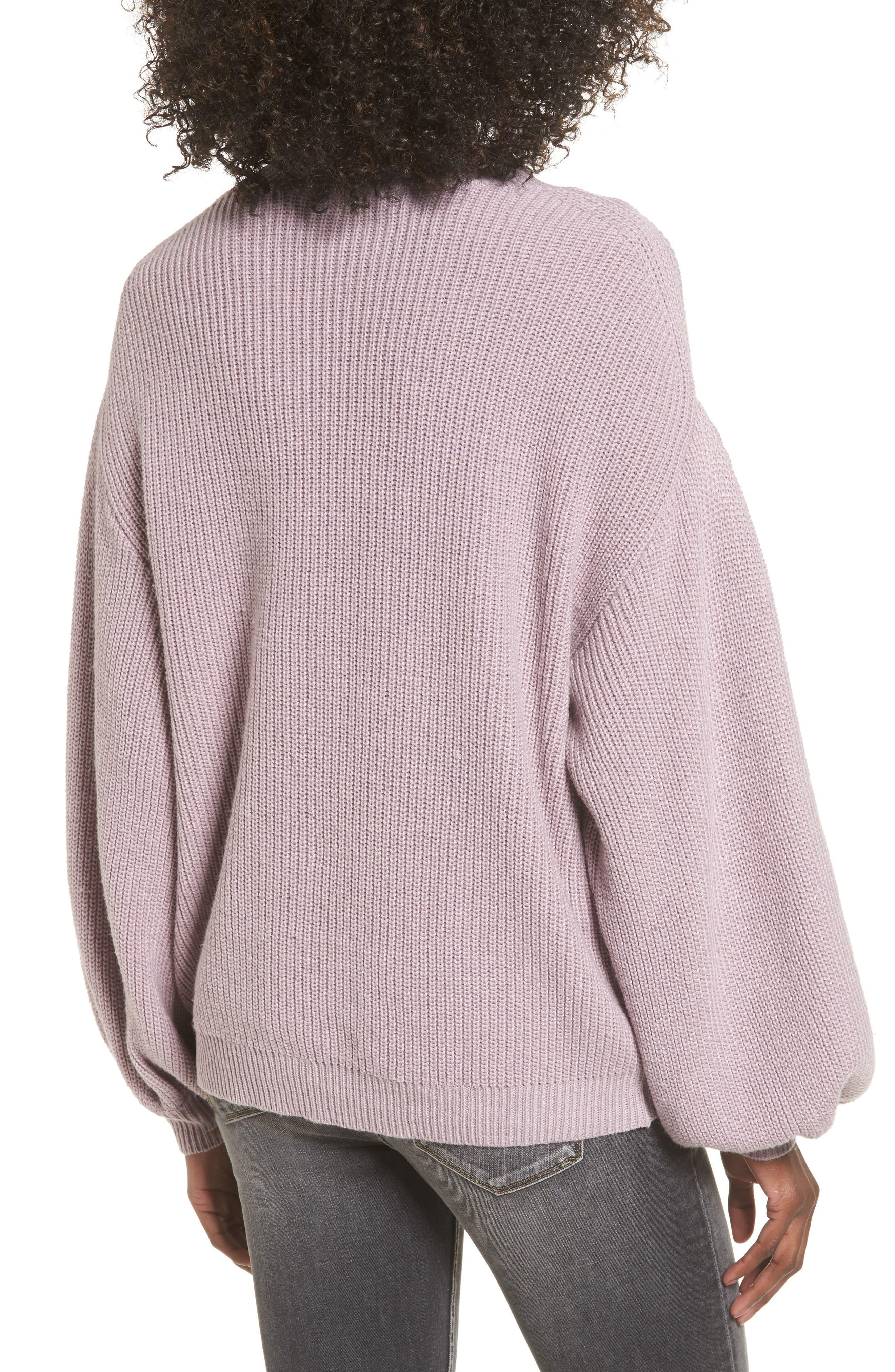 Alternate Image 2  - Leith Blouson Sleeve Sweater