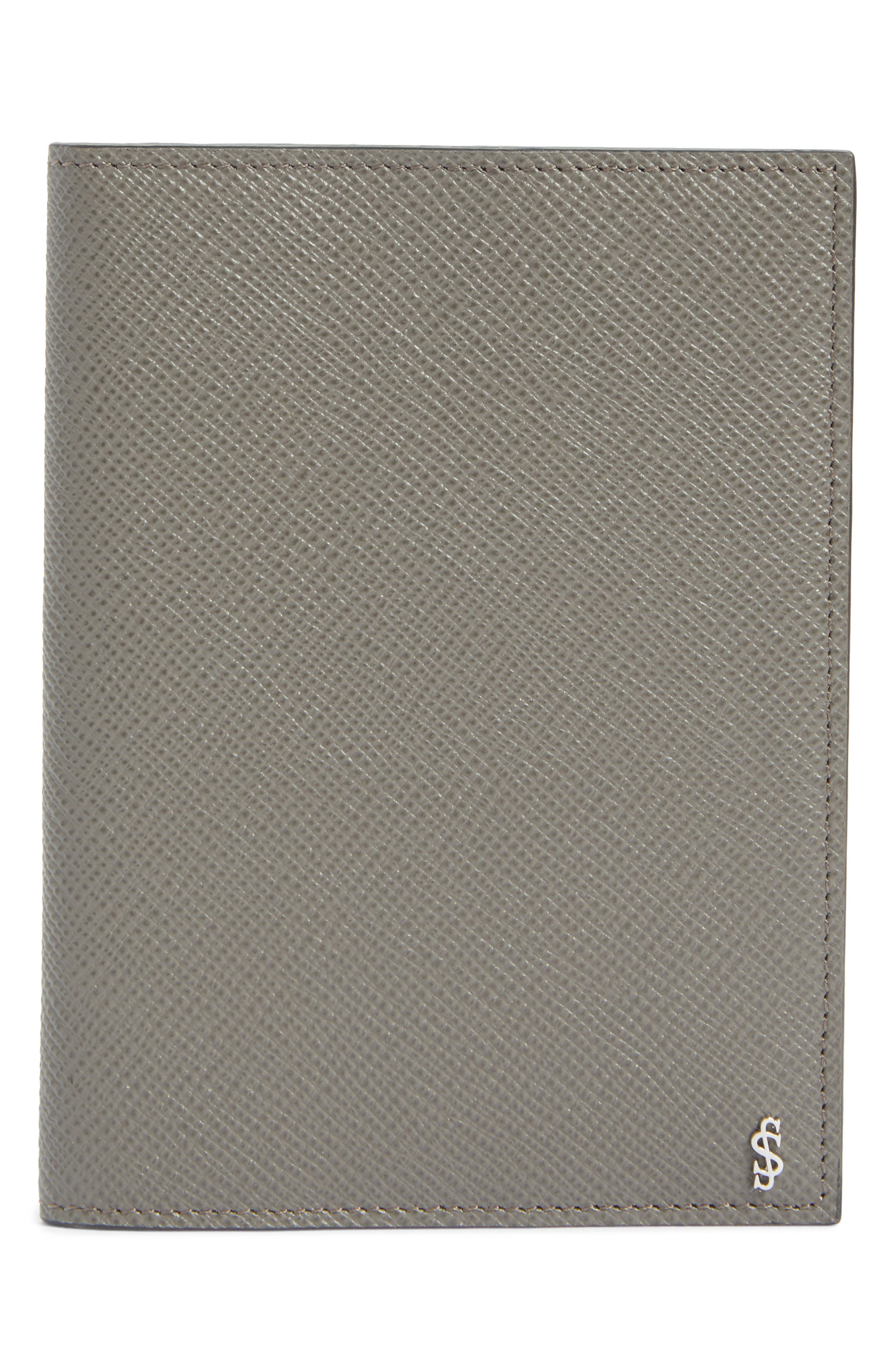 Serapian Milano Evolution Leather Passport Cover
