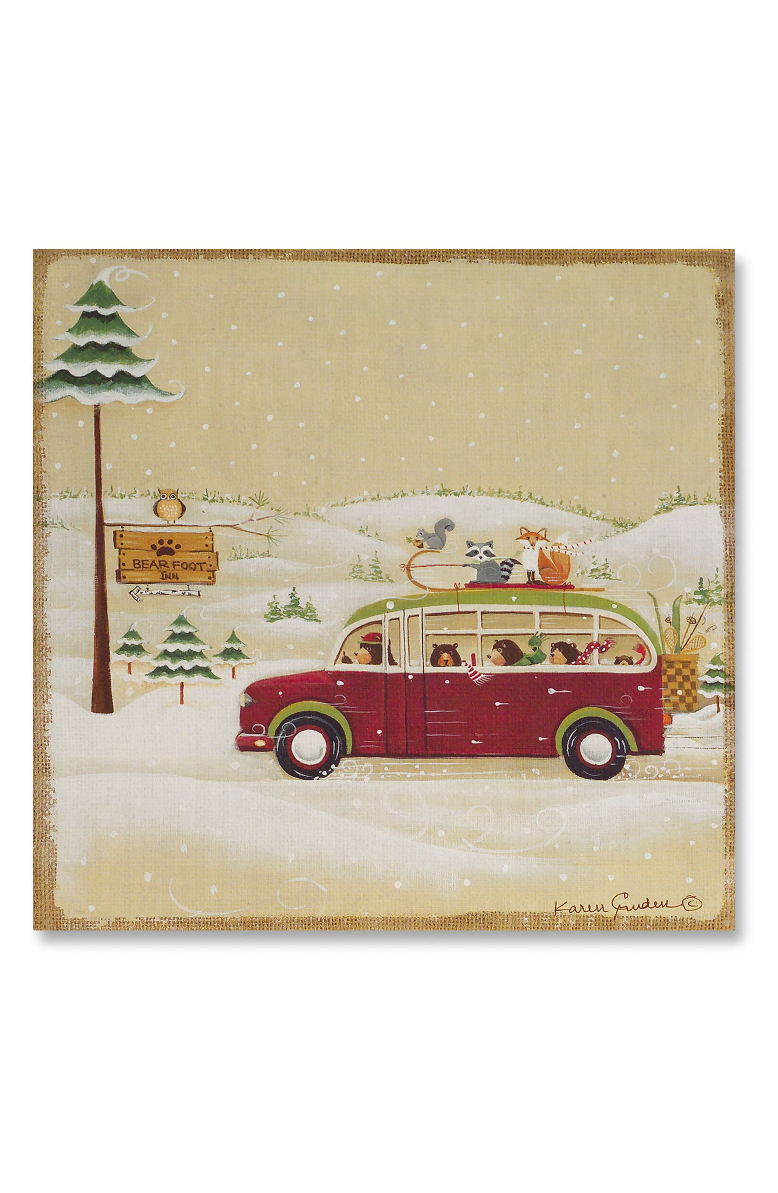 Melrose Gifts Camping Wall Art
