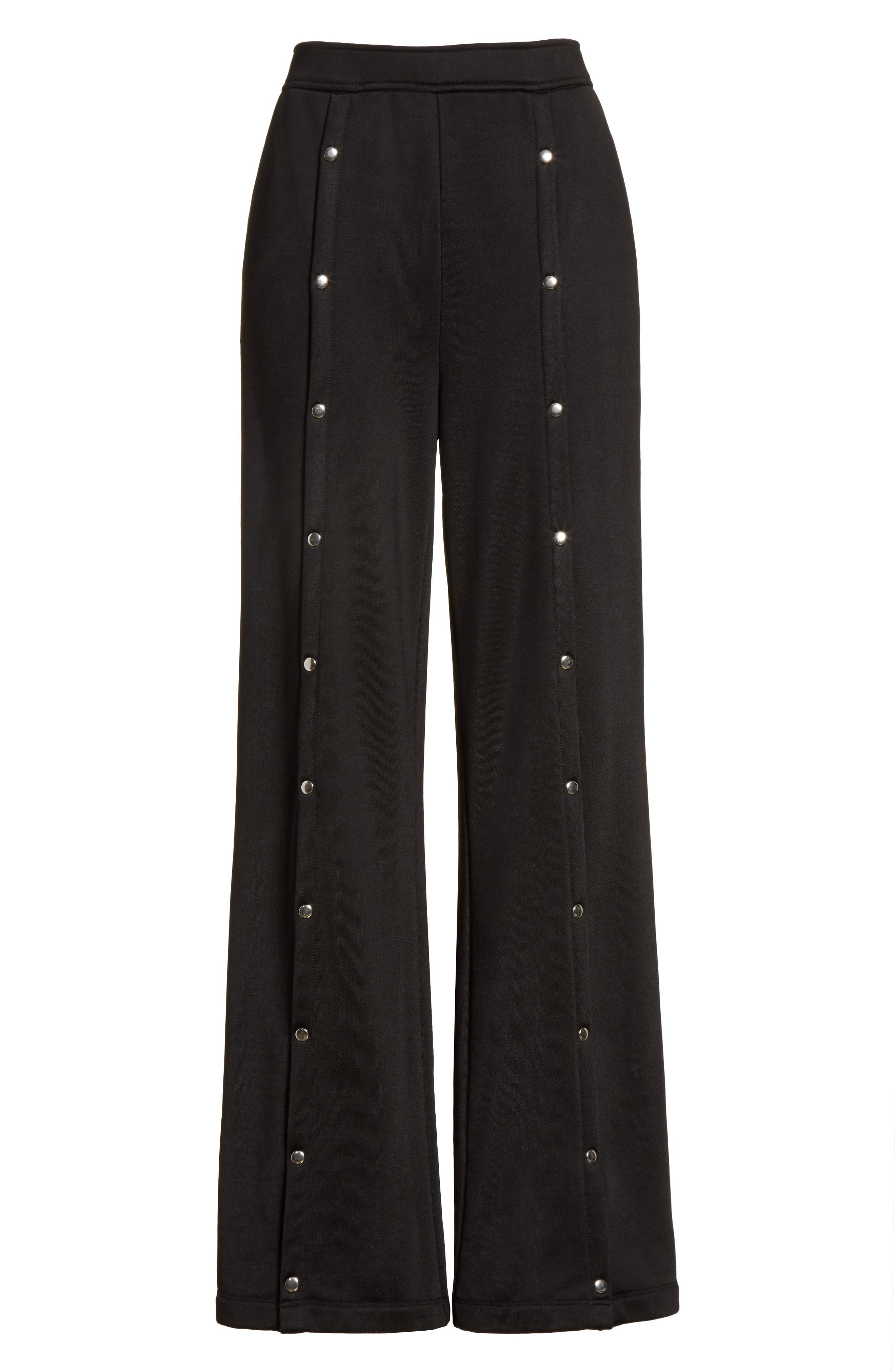 Alternate Image 8  - T by Alexander Wang French Terry Wide Leg Pants