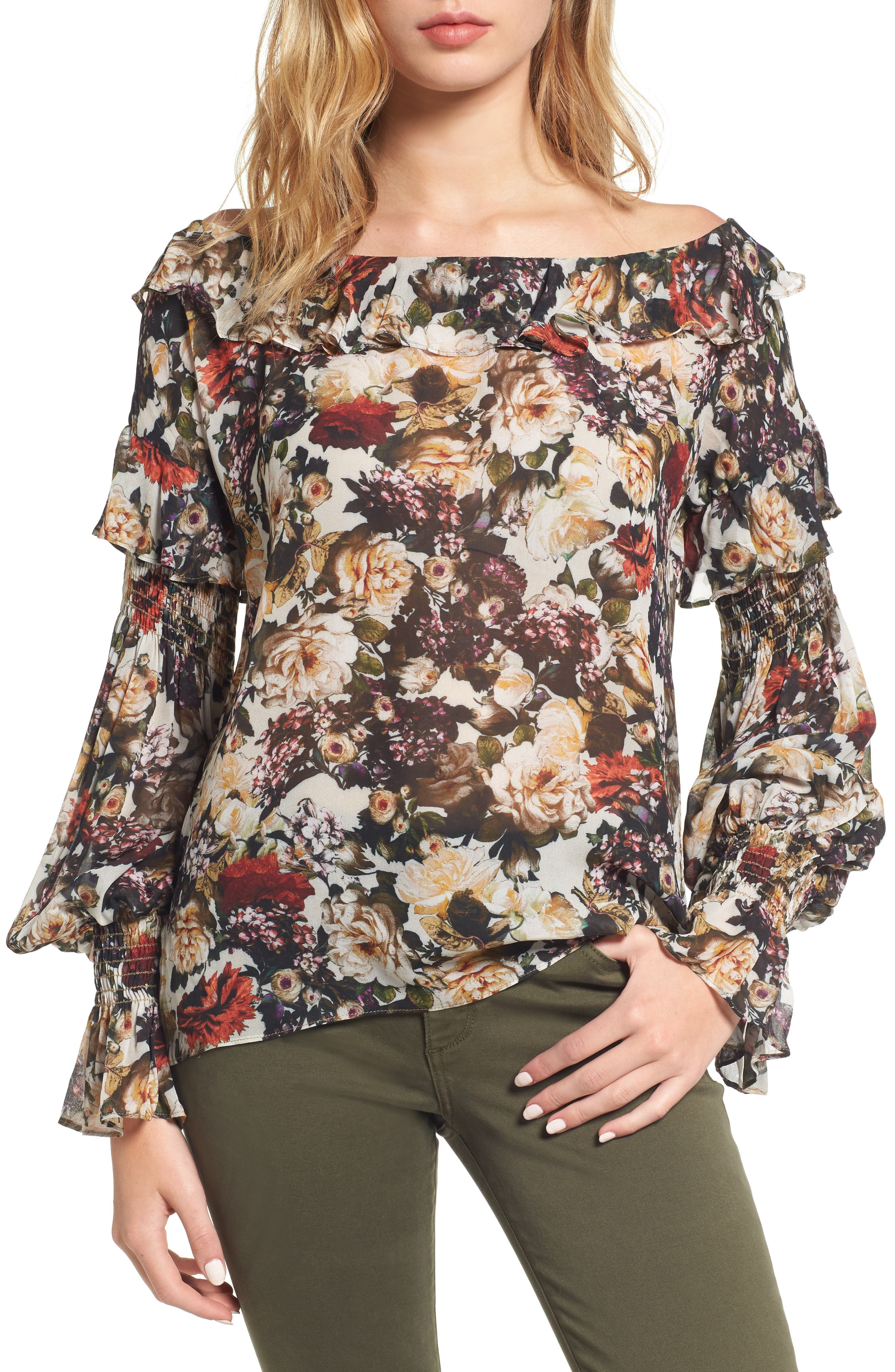 Once Upon a Time Blouse,                         Main,                         color, Floral