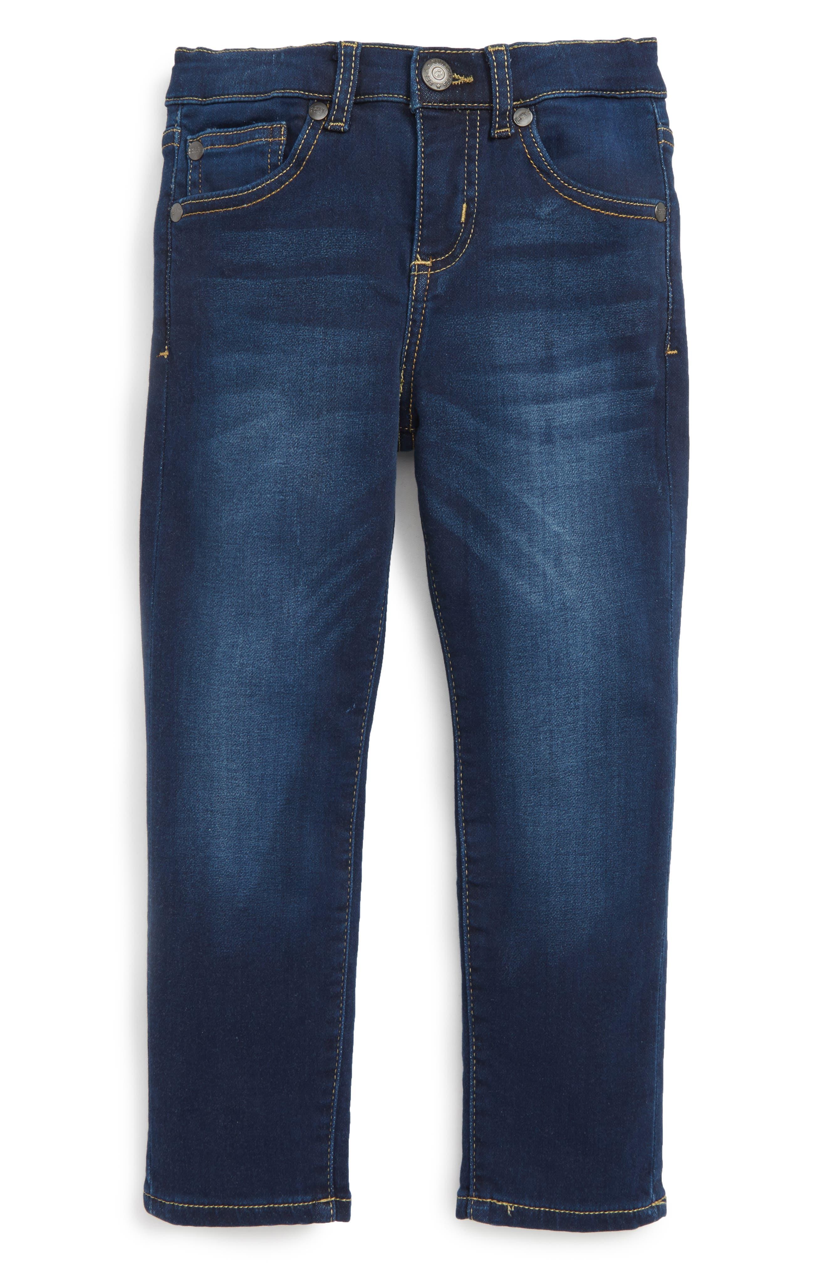 Stretch Cotton Skinny Jeans,                         Main,                         color, Medium Wash