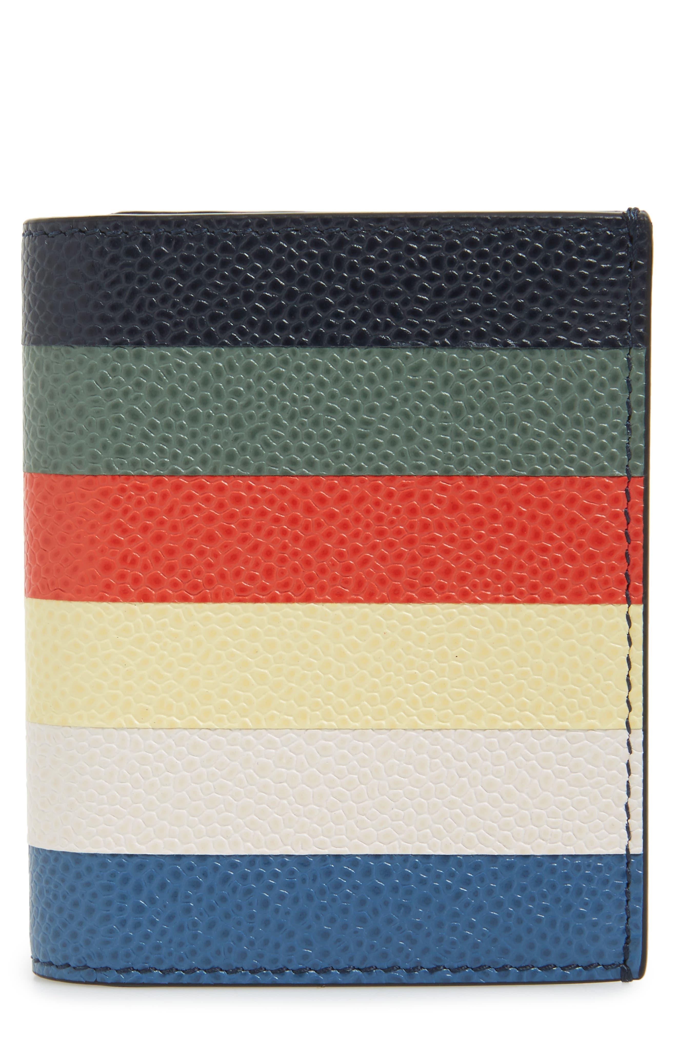 THOM BROWNE Leather Pocket Organizer