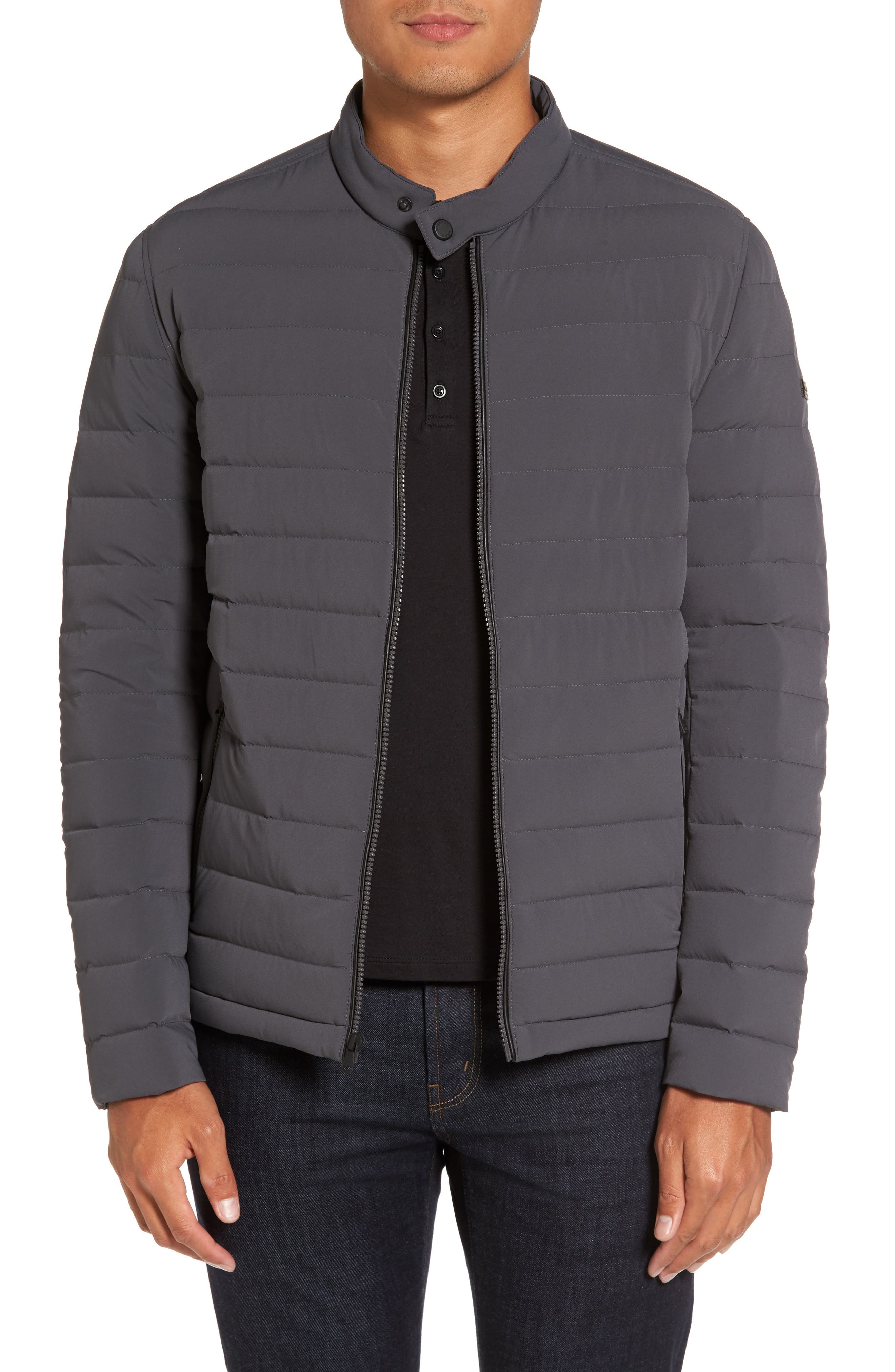 Michael Kors Packable Stretch Down Jacket